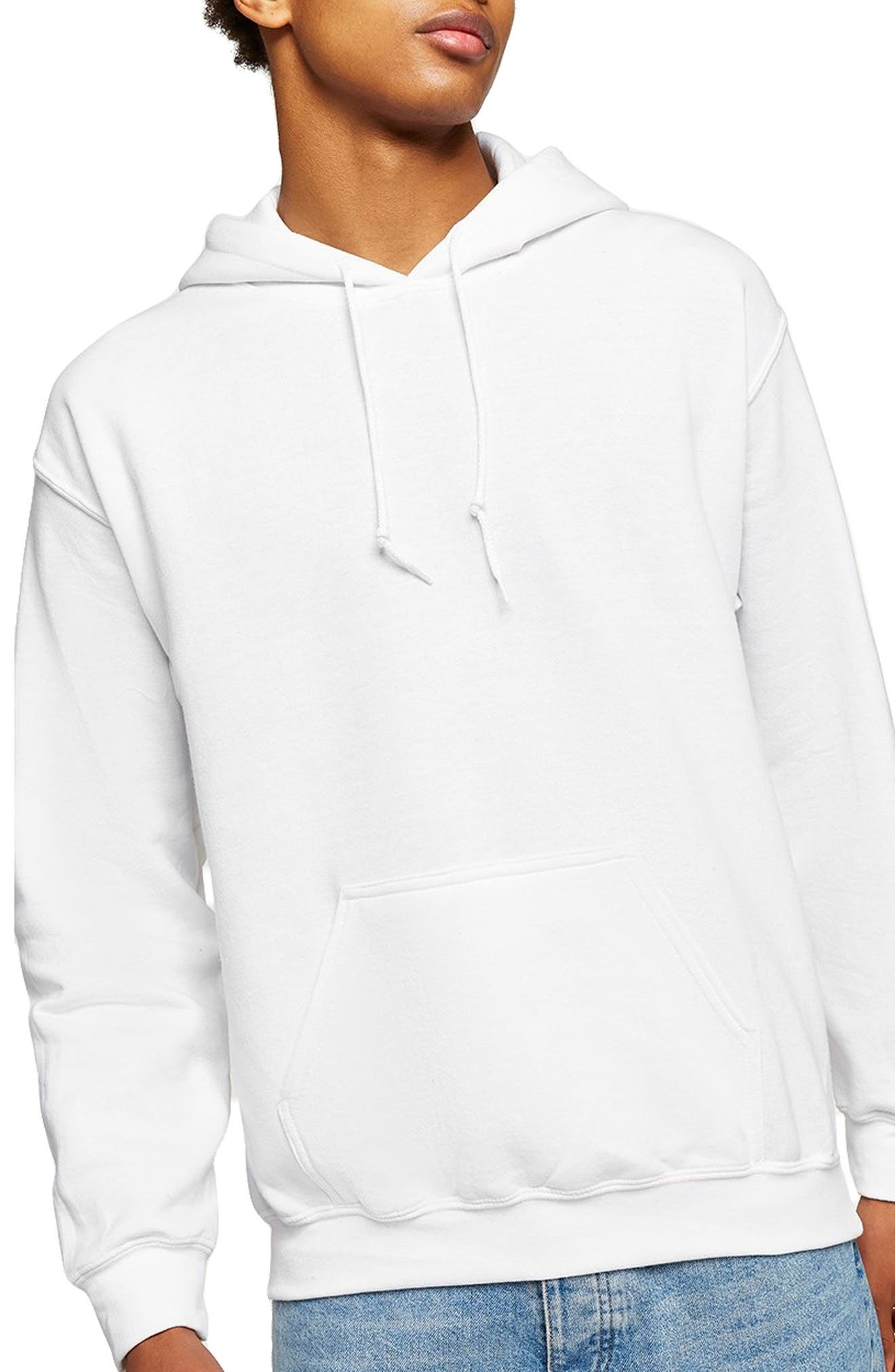 Classic Fit Gildan Pullover Hoodie,                         Main,                         color, 100