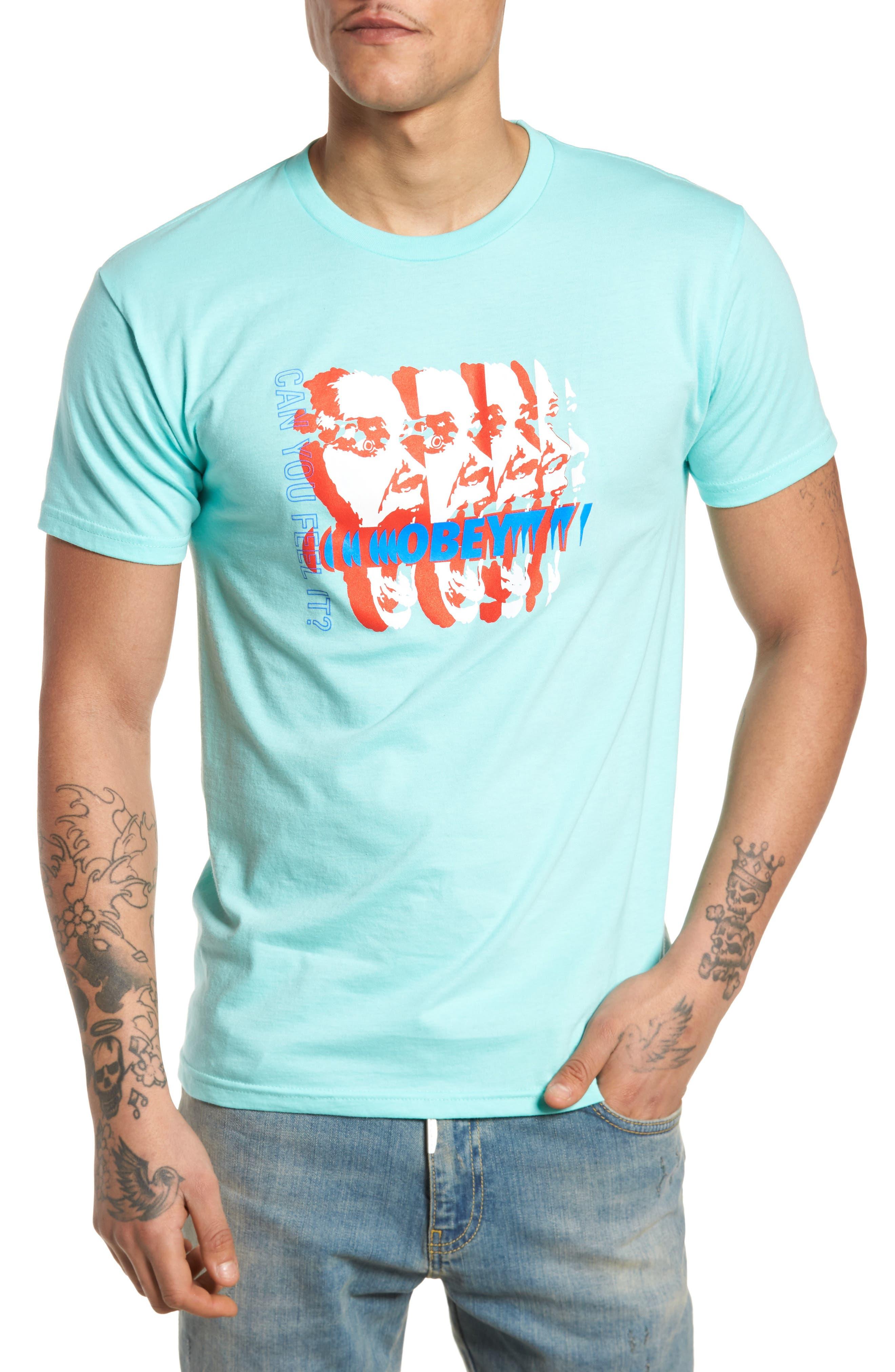 Can You Feel It Premium T-Shirt,                             Main thumbnail 1, color,                             450
