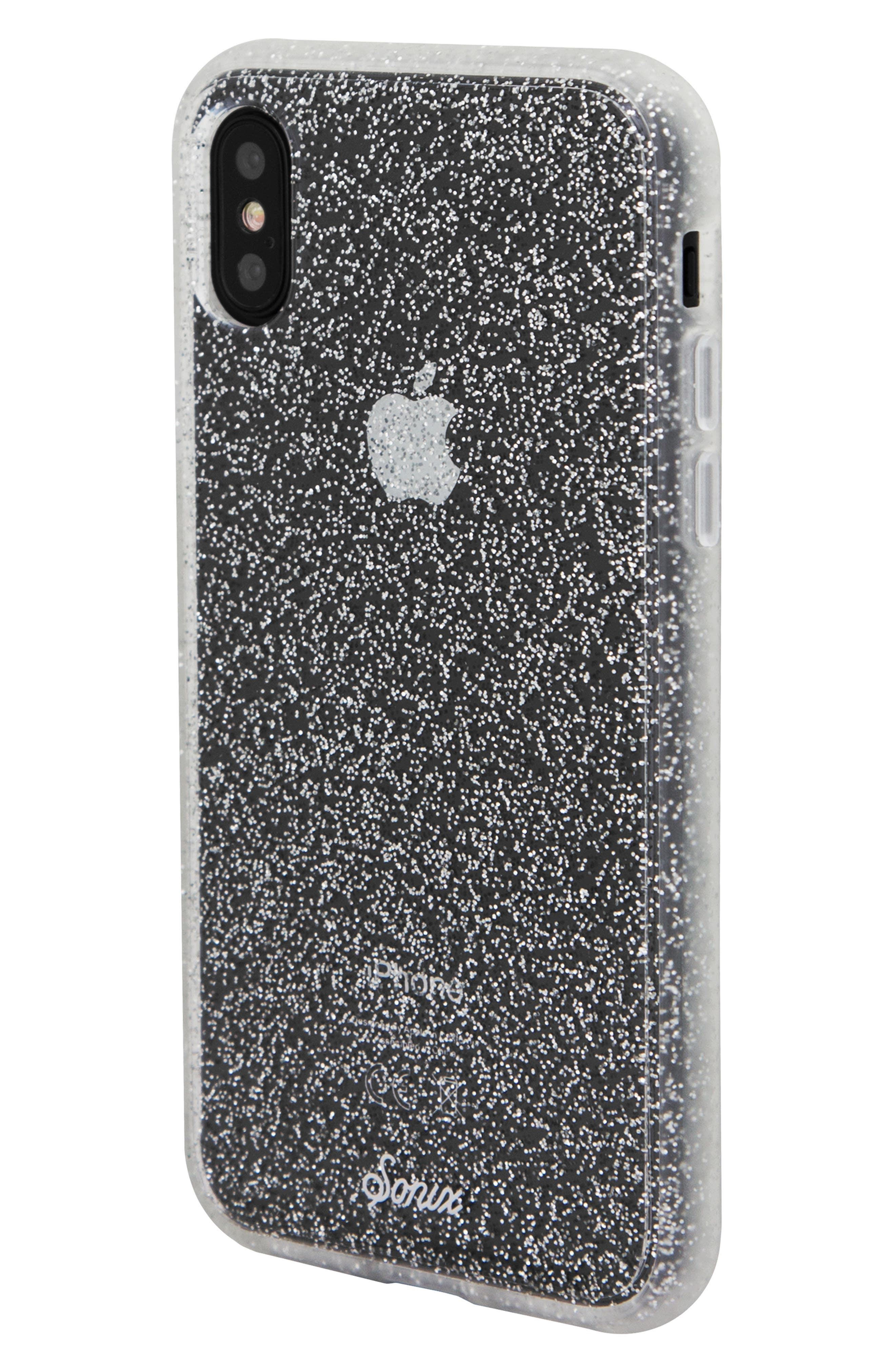 Glitter iPhone X/Xs, XR & X Max Case,                             Alternate thumbnail 2, color,                             040