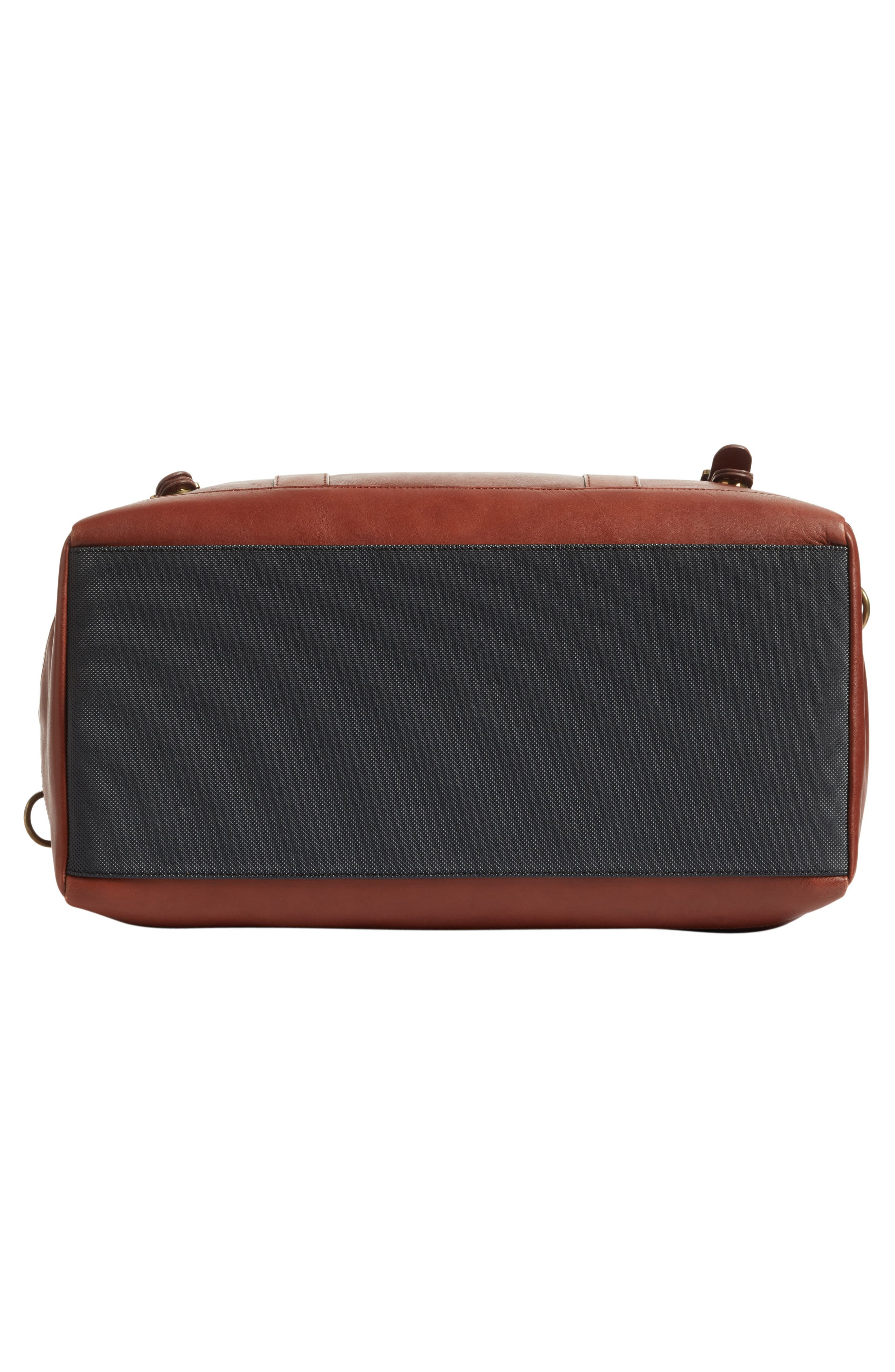 Leather Duffel Bag,                             Alternate thumbnail 12, color,