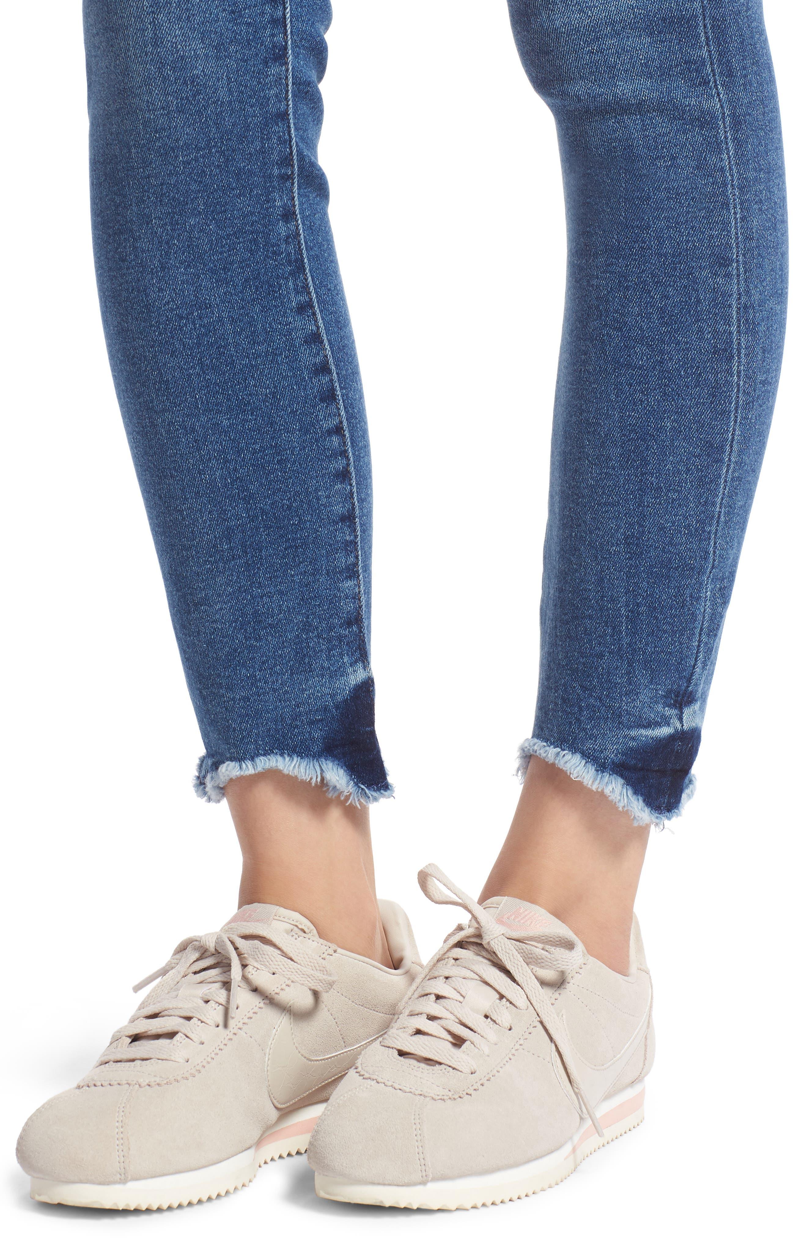 Farrow High Waist Skinny Jeans,                             Alternate thumbnail 4, color,                             422