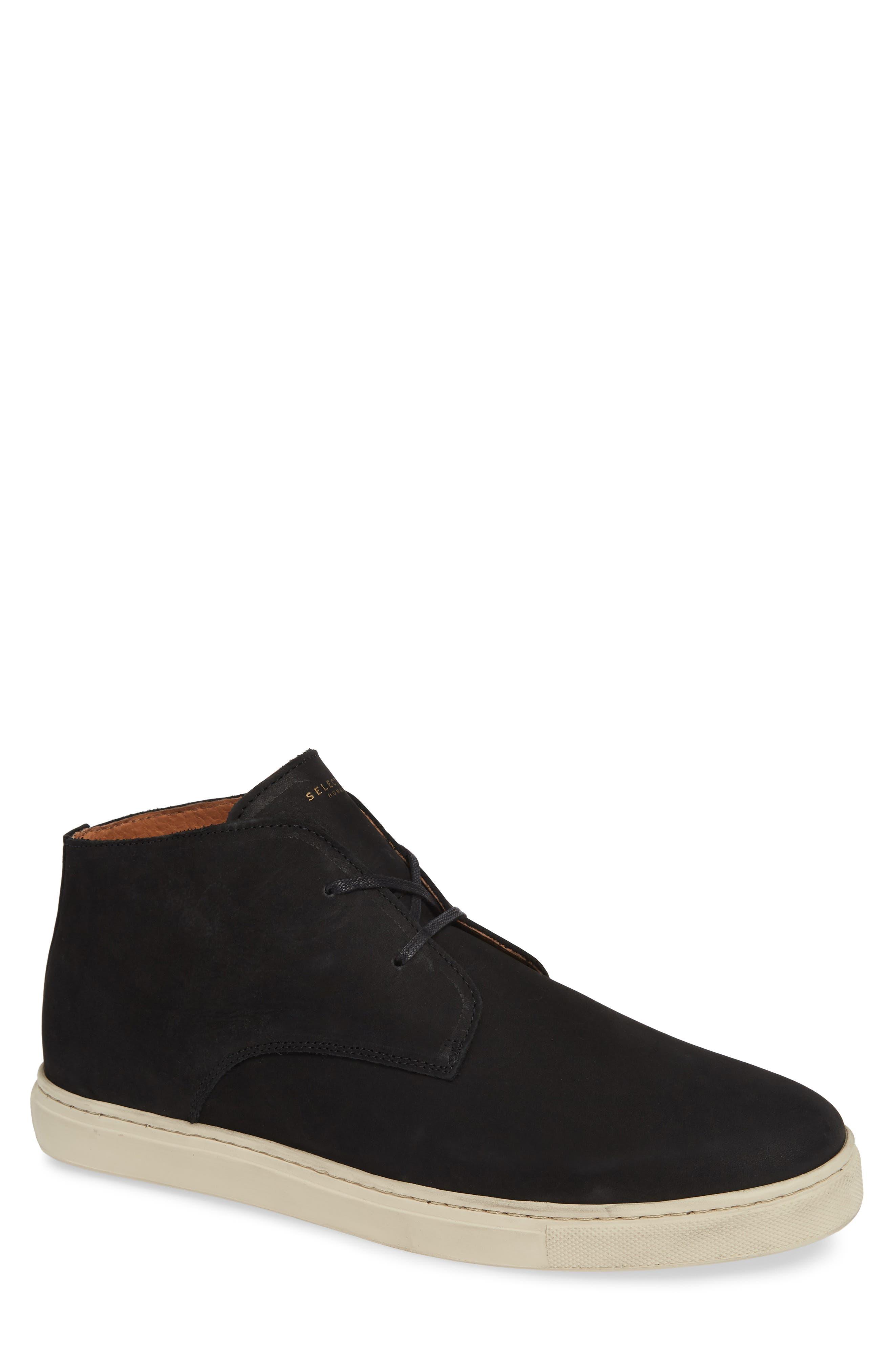 Dempsey Chukka Sneaker,                             Main thumbnail 1, color,                             BLACK