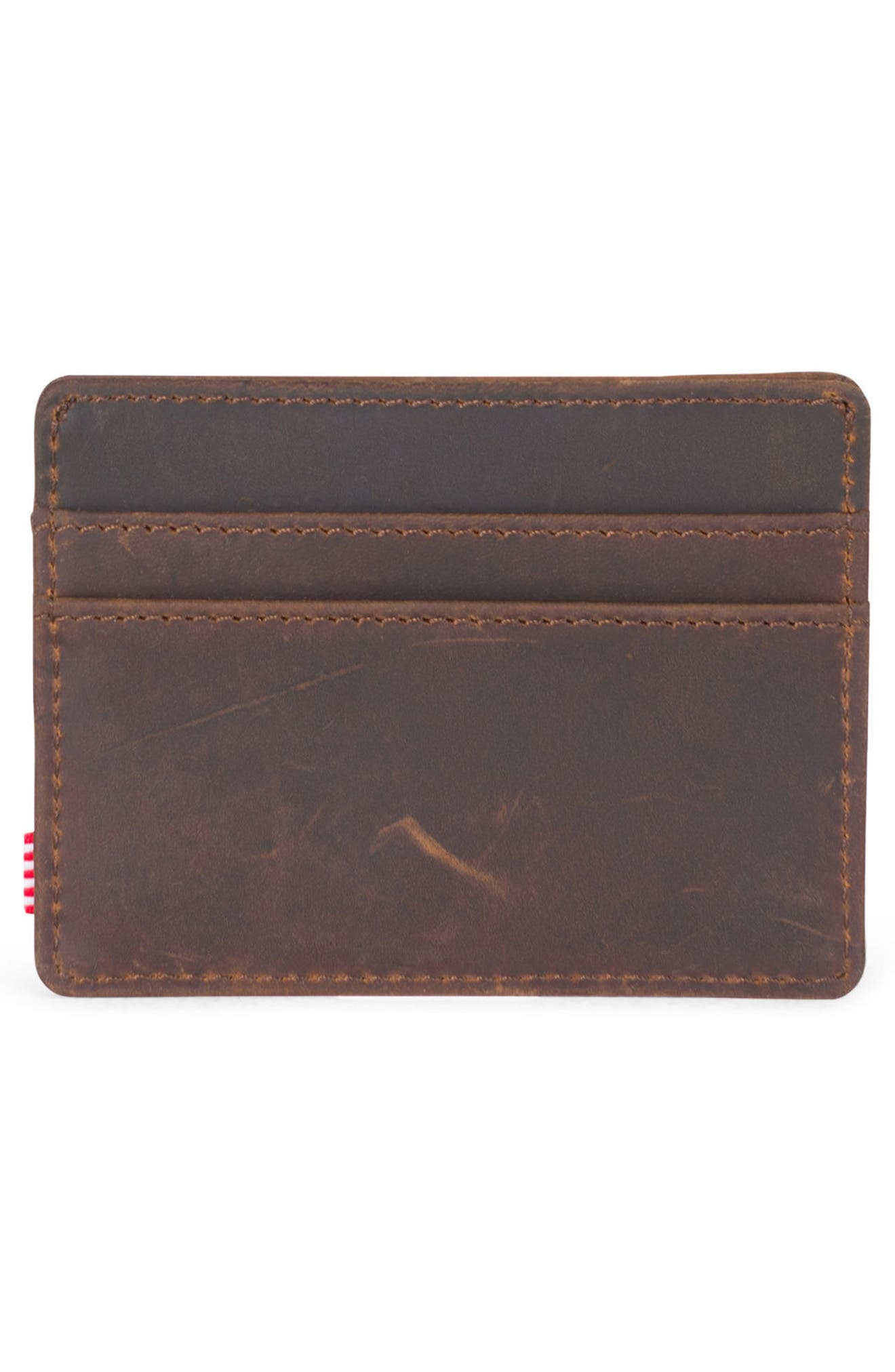 Charlie Leather Card Case,                             Alternate thumbnail 11, color,