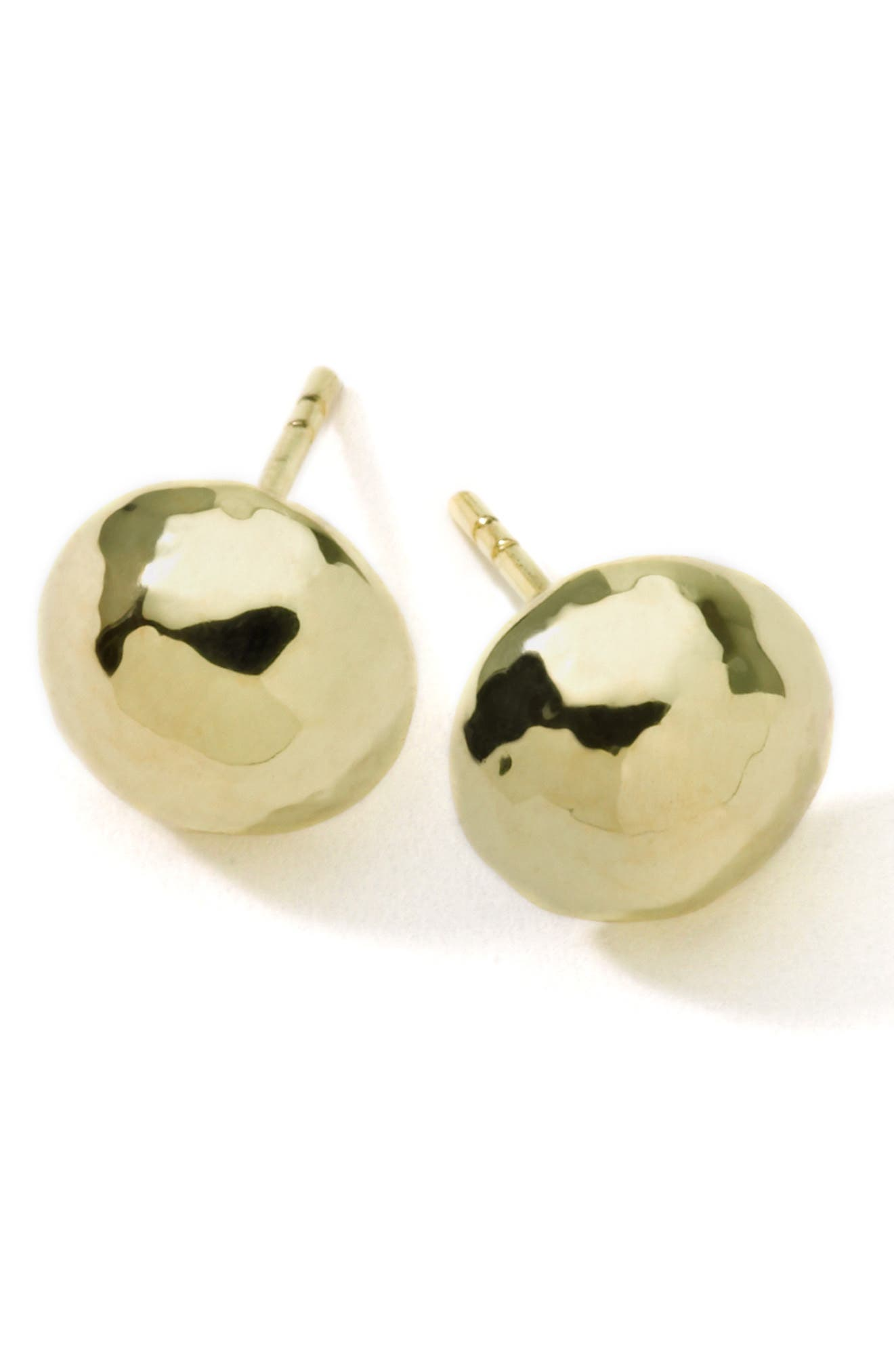 'Glamazon' 18k Gold Hammered Ball Earrings,                             Alternate thumbnail 2, color,                             YELLOW GOLD