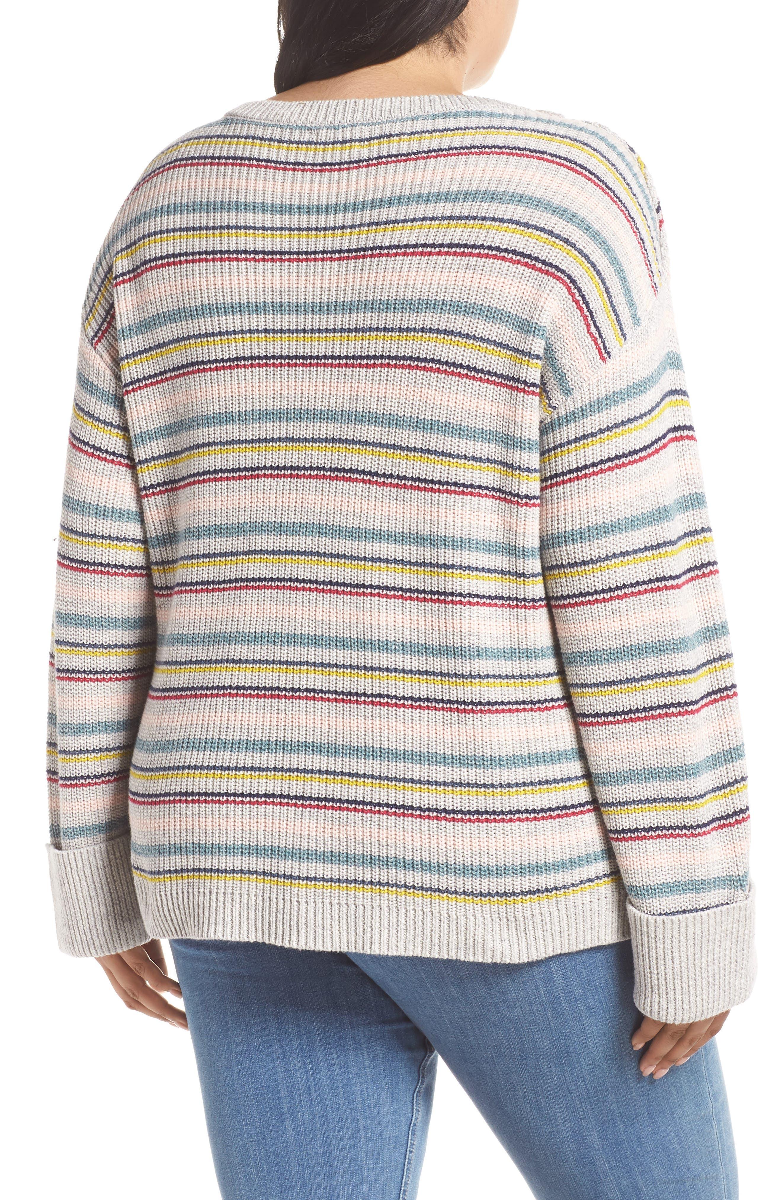 Button Shoulder Sweater,                             Alternate thumbnail 2, color,                             050
