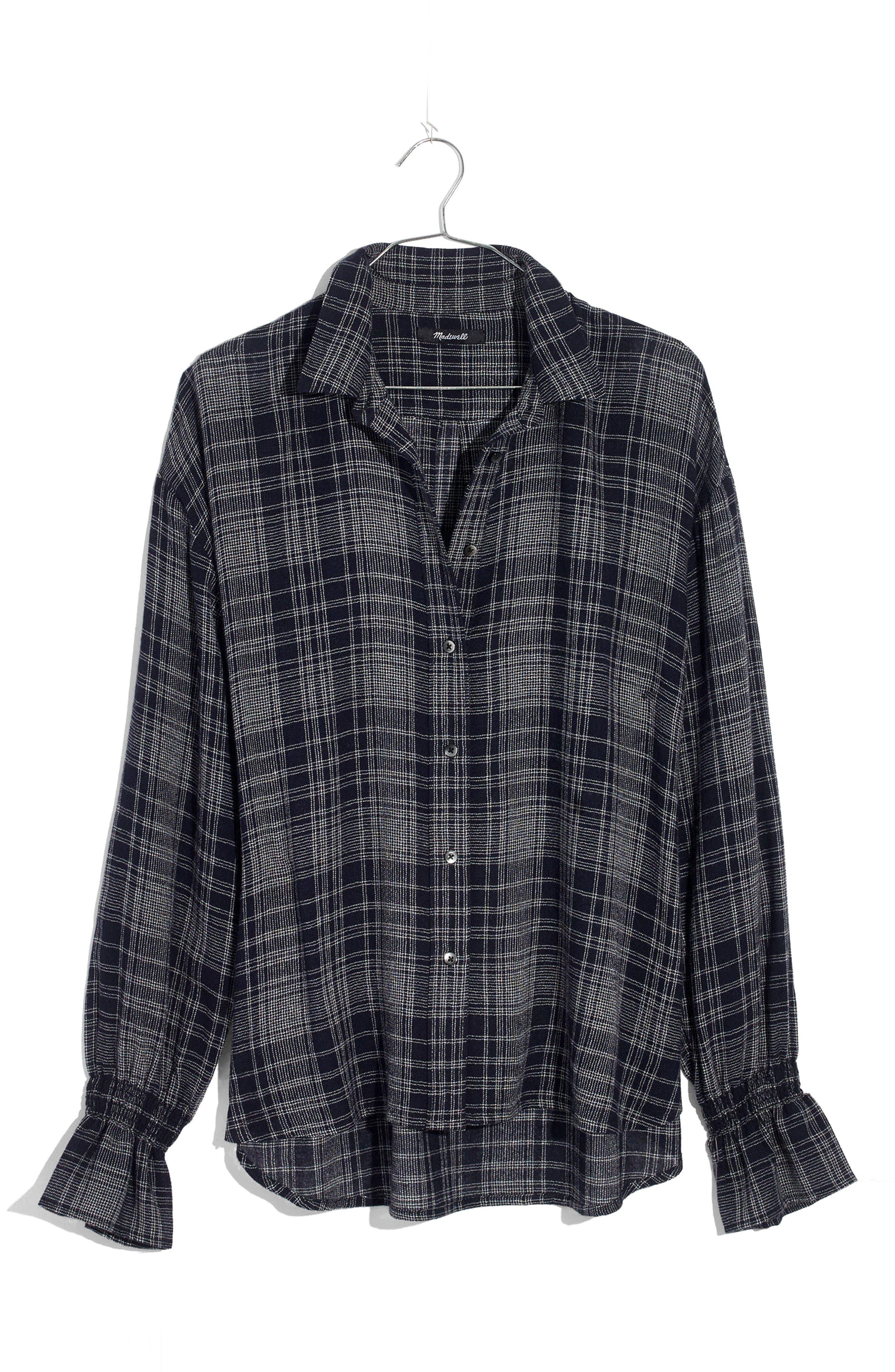 Westward Bell Sleeve Shirt,                             Alternate thumbnail 4, color,                             400
