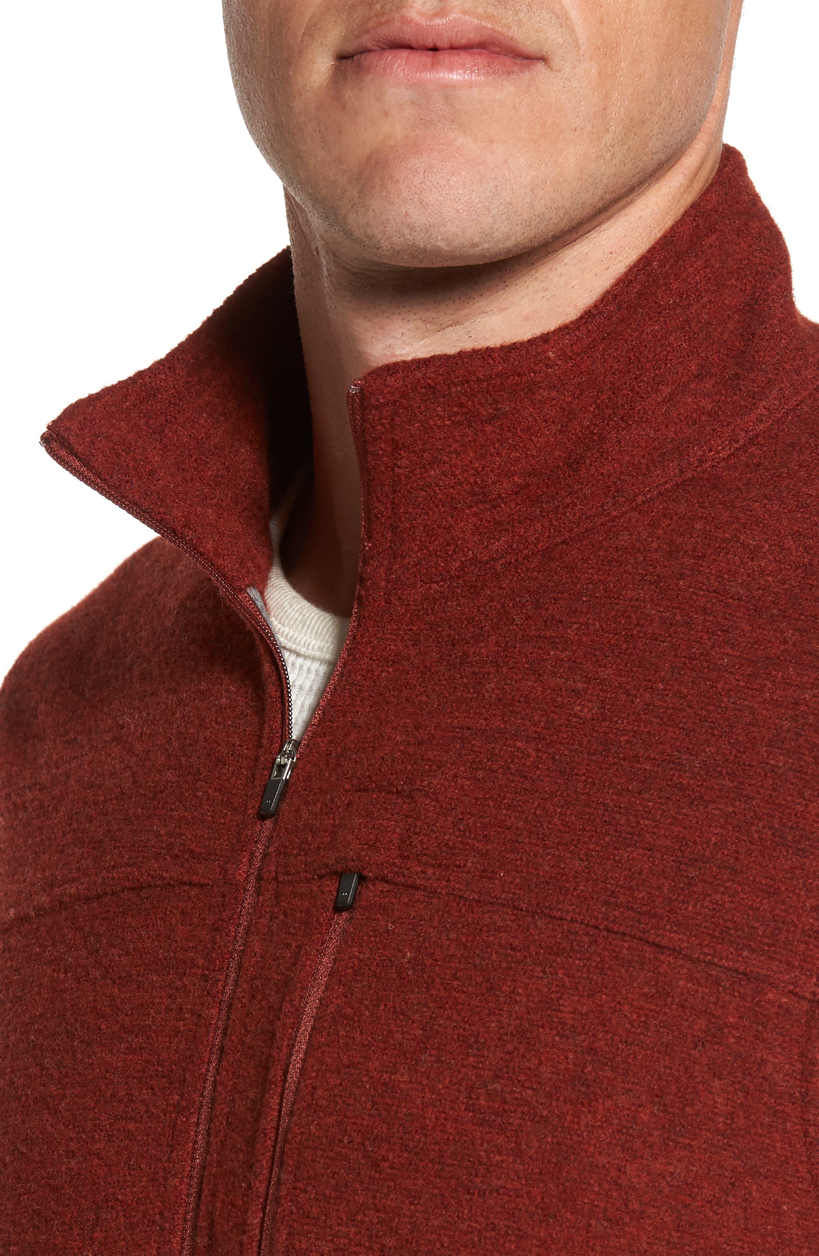 Scout Jura Merino Wool Blend Quarter Zip Pullover,                             Alternate thumbnail 20, color,