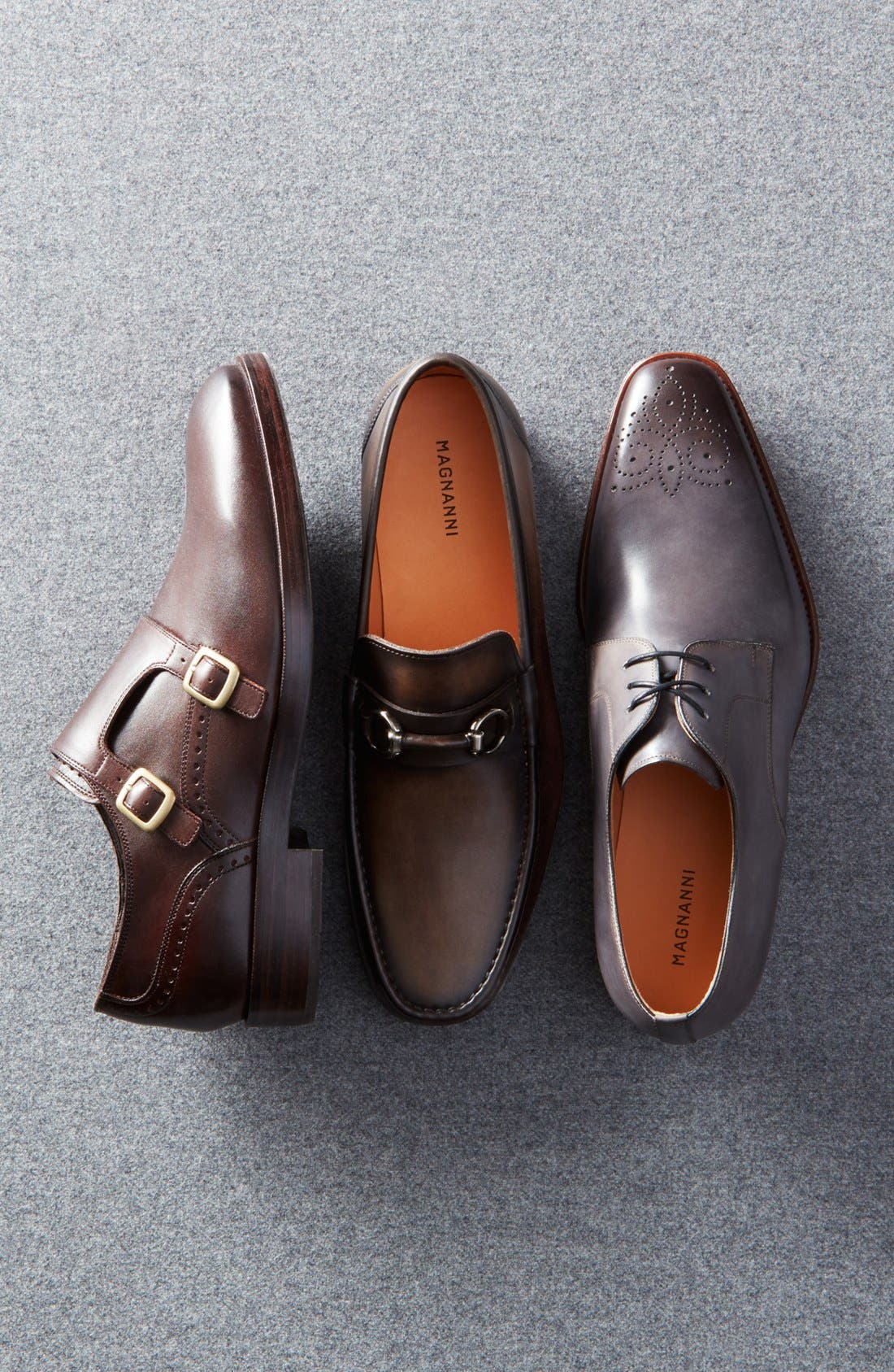 'Harrison' Double Monk Strap Shoe,                             Alternate thumbnail 6, color,                             205