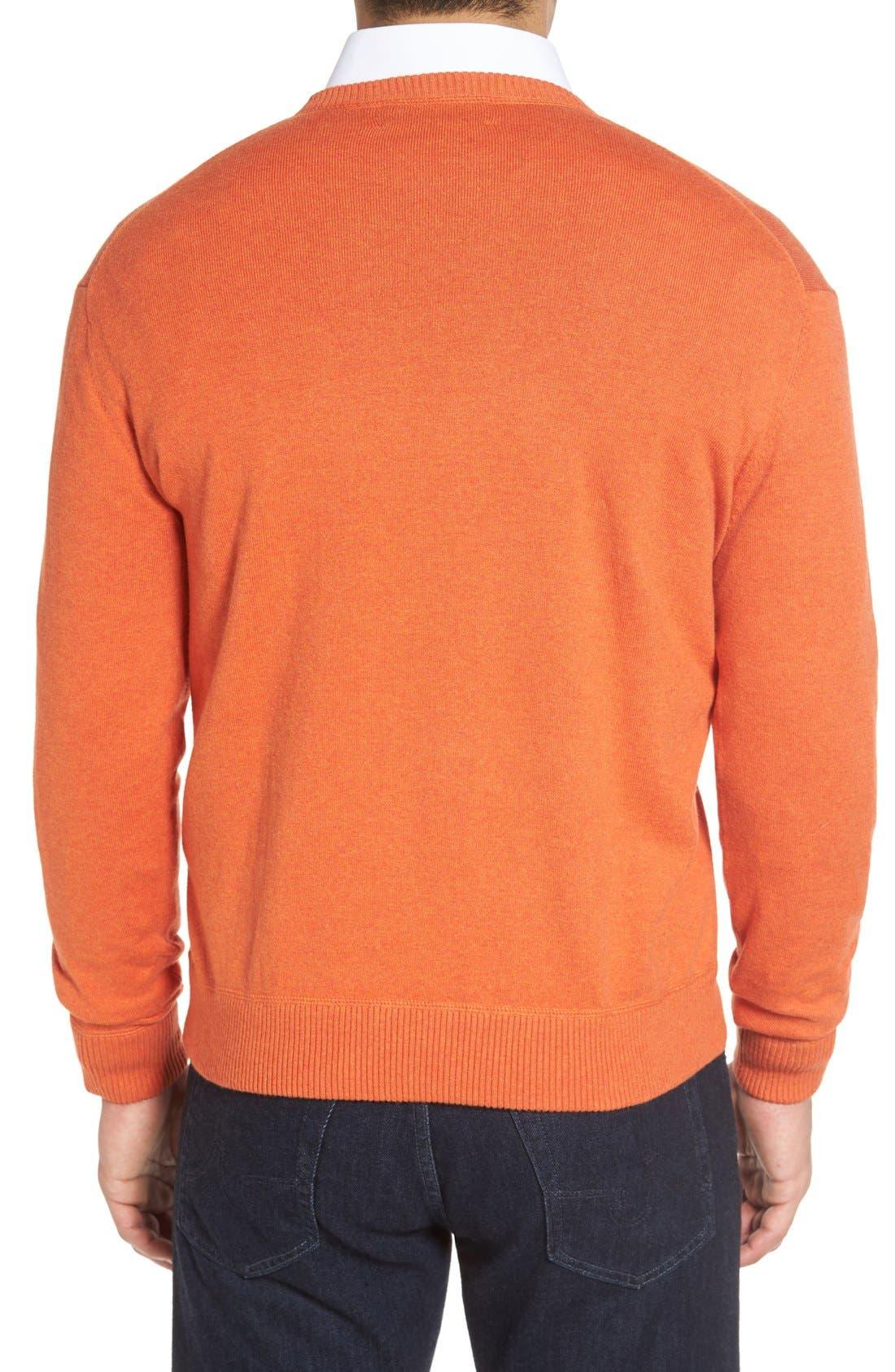 'Jersey Sport' Cotton Blend Crewneck Sweater,                             Alternate thumbnail 15, color,
