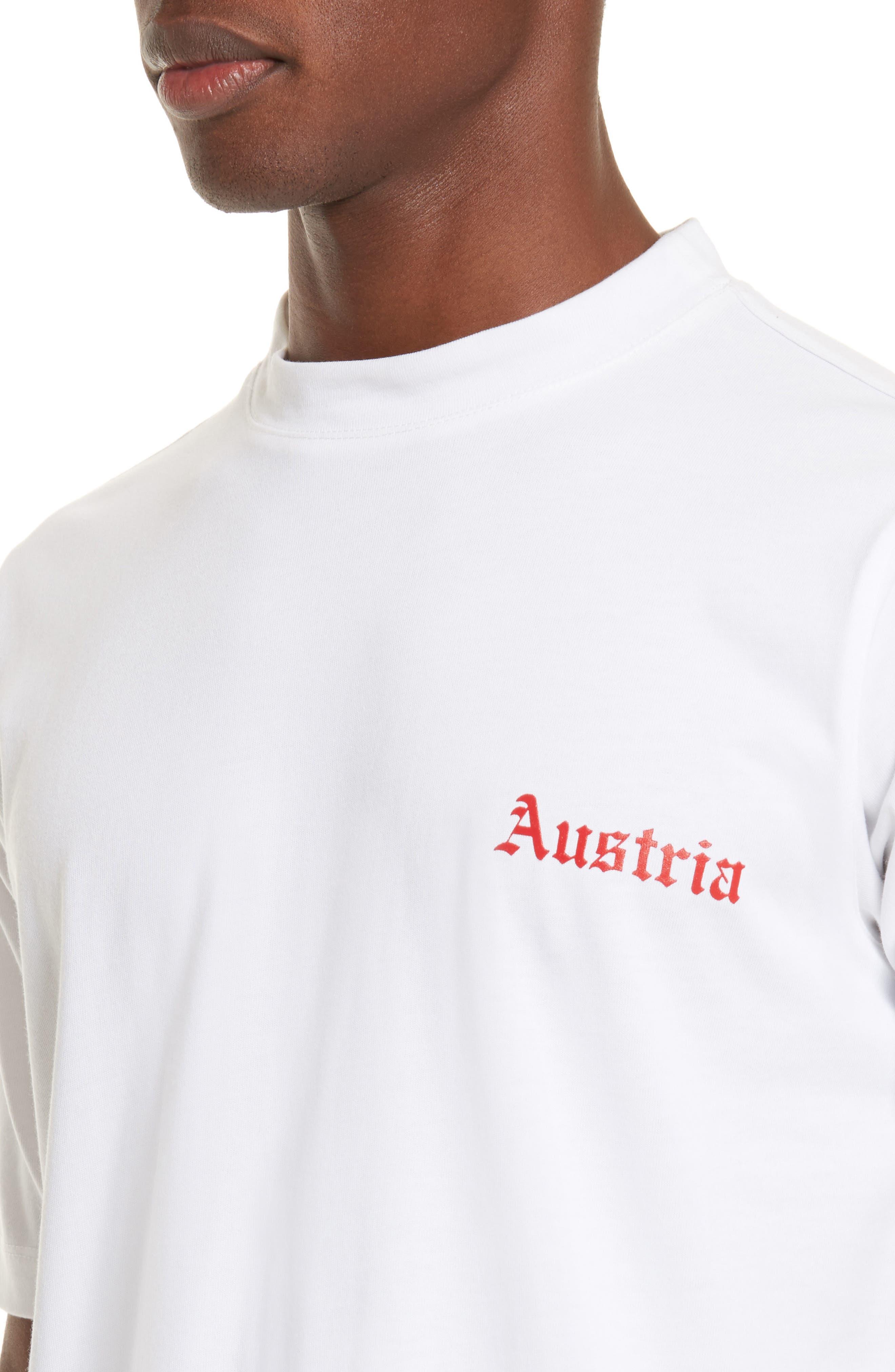 Austria Tall T-Shirt,                             Alternate thumbnail 4, color,                             100