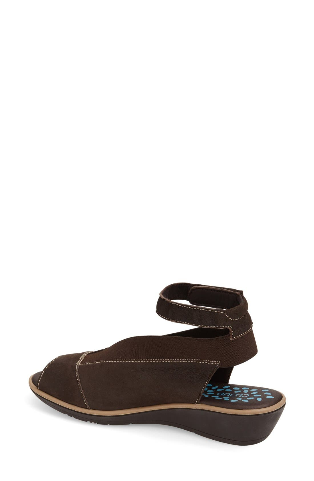 Saucy Ankle Strap Wedge,                             Alternate thumbnail 2, color,                             201