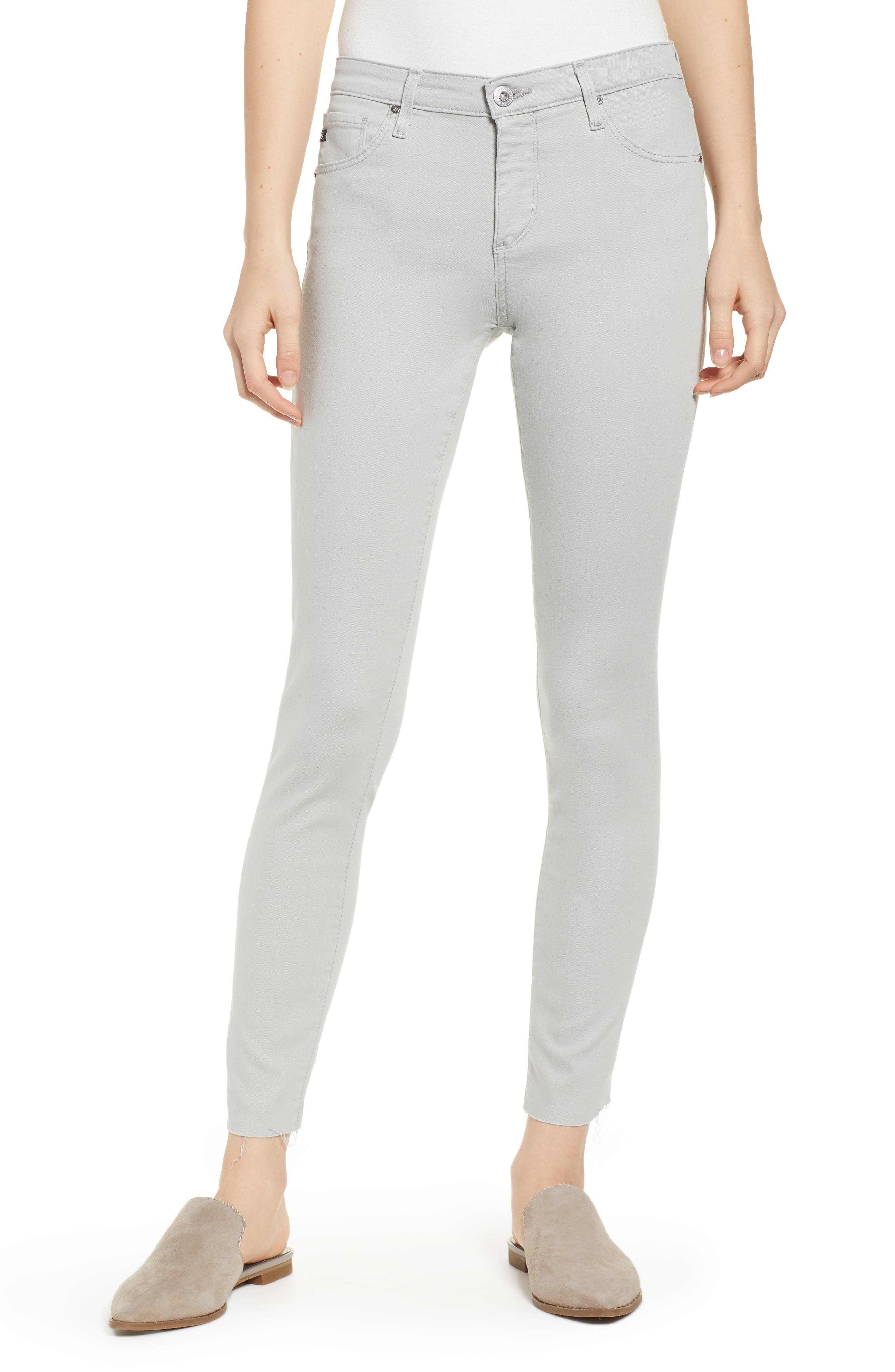 AG The Legging Ankle Super Skinny Jeans, Main, color, MISTY MIRROR