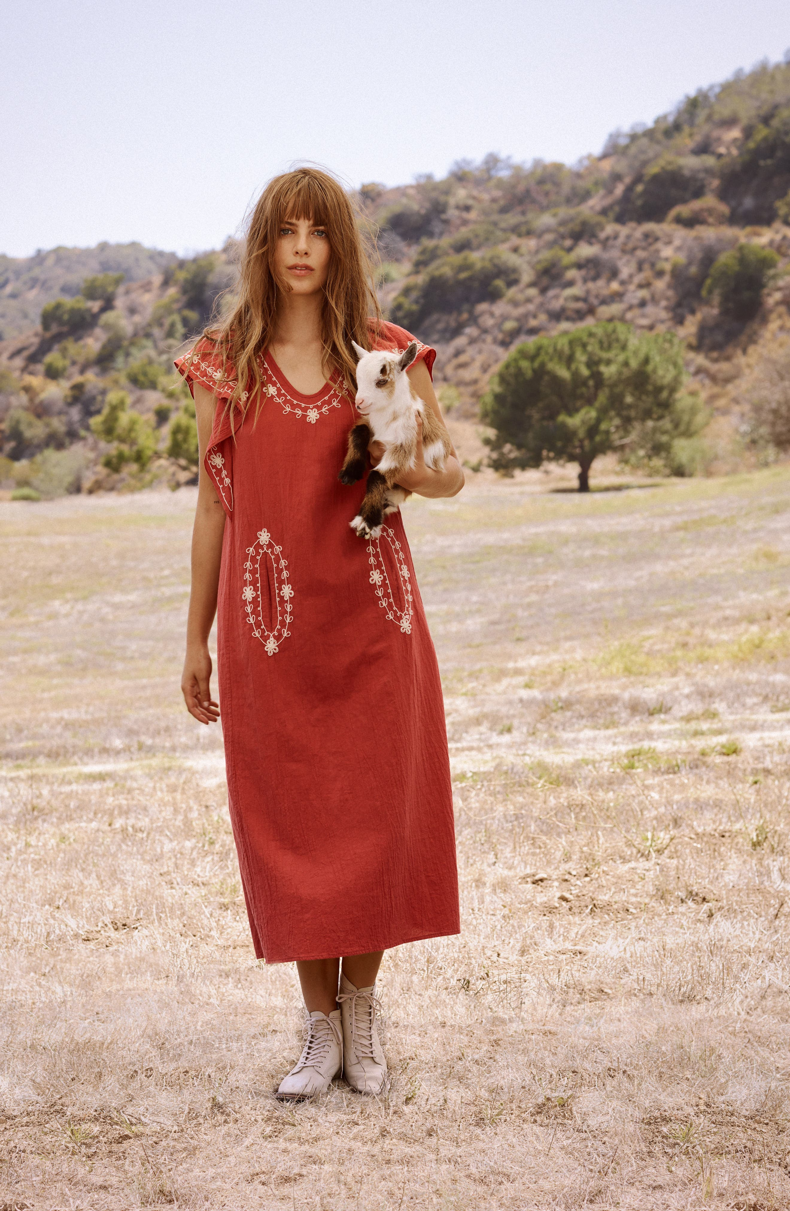 The Vineyard Dress,                             Alternate thumbnail 7, color,                             600