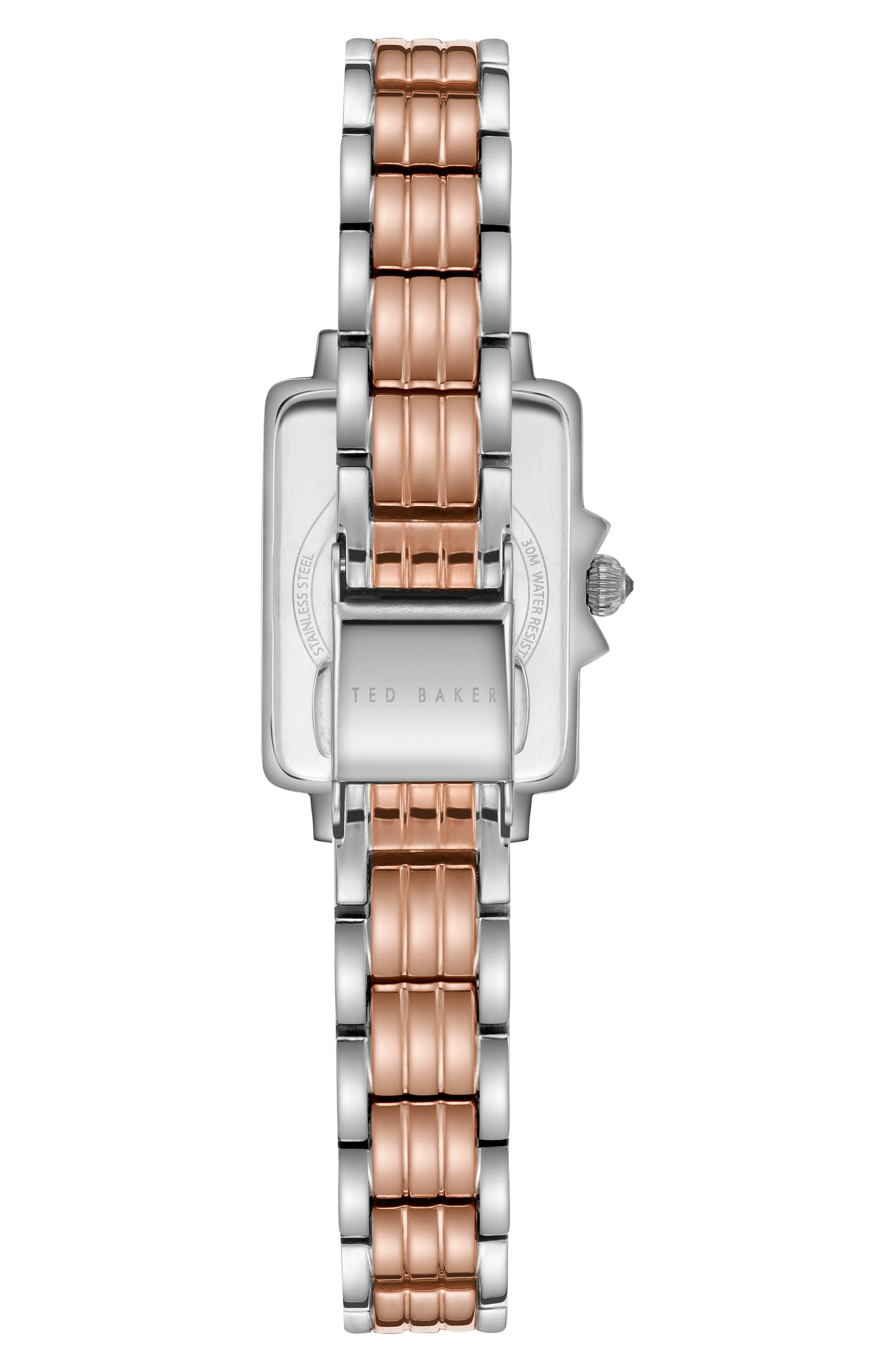 TED BAKER LONDON,                             Tess Bracelet Watch, 20mm,                             Alternate thumbnail 2, color,                             040