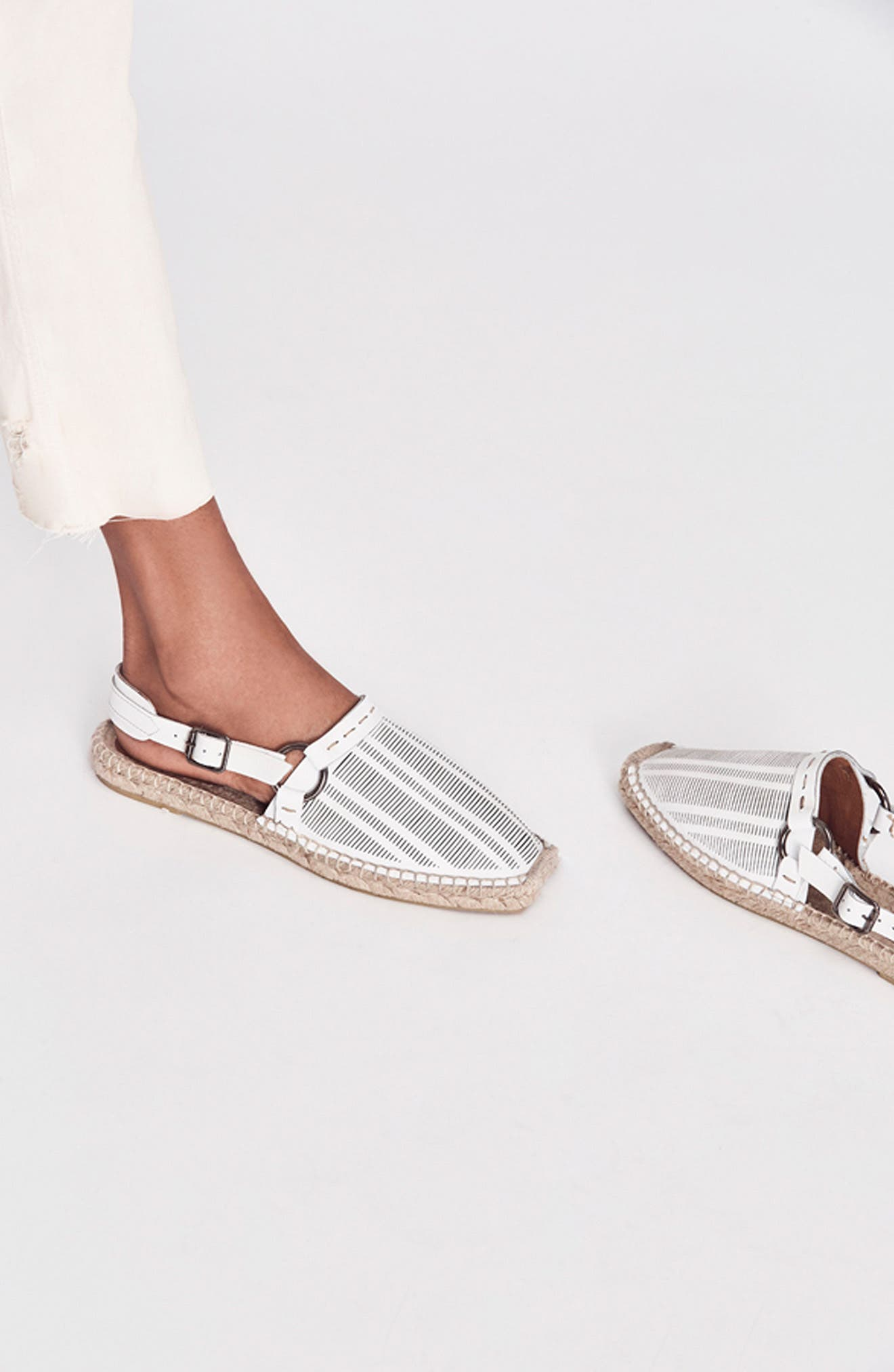 FREE PEOPLE,                             Cabo Espadrille Flat,                             Alternate thumbnail 10, color,                             001