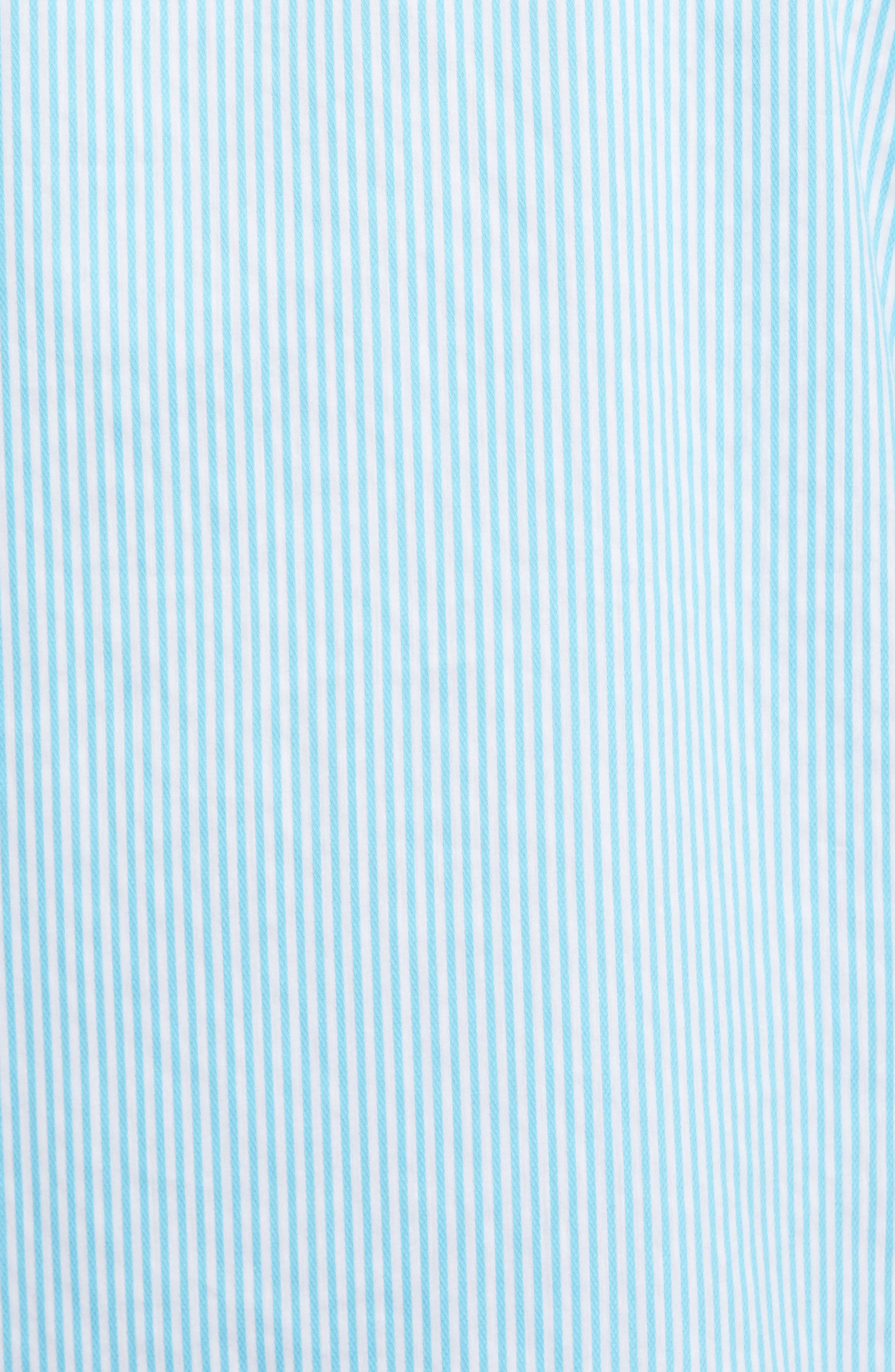 Technical Stripe Sport Shirt,                             Alternate thumbnail 14, color,