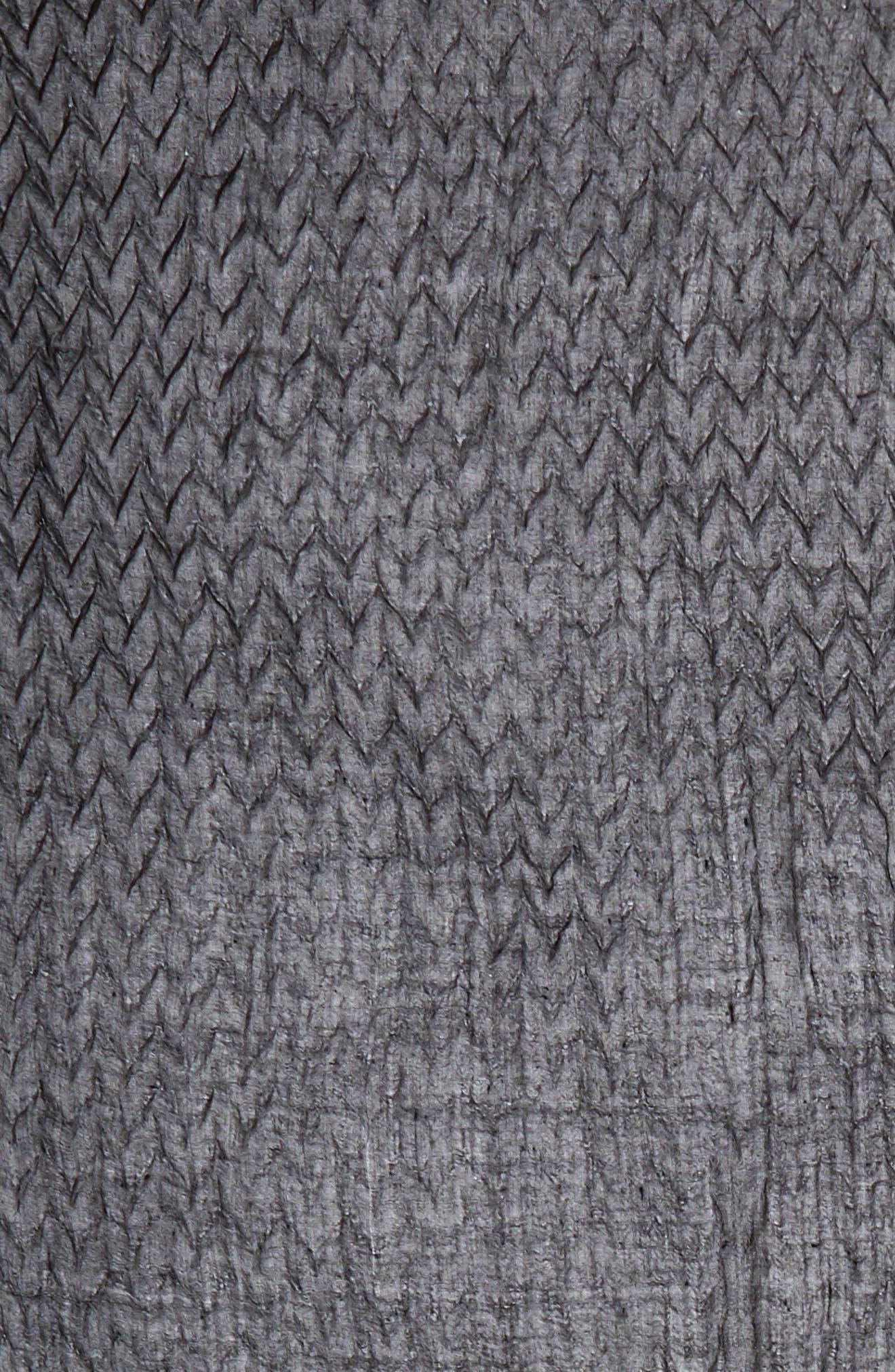 Silk & Wool Wrap,                             Alternate thumbnail 4, color,                             001