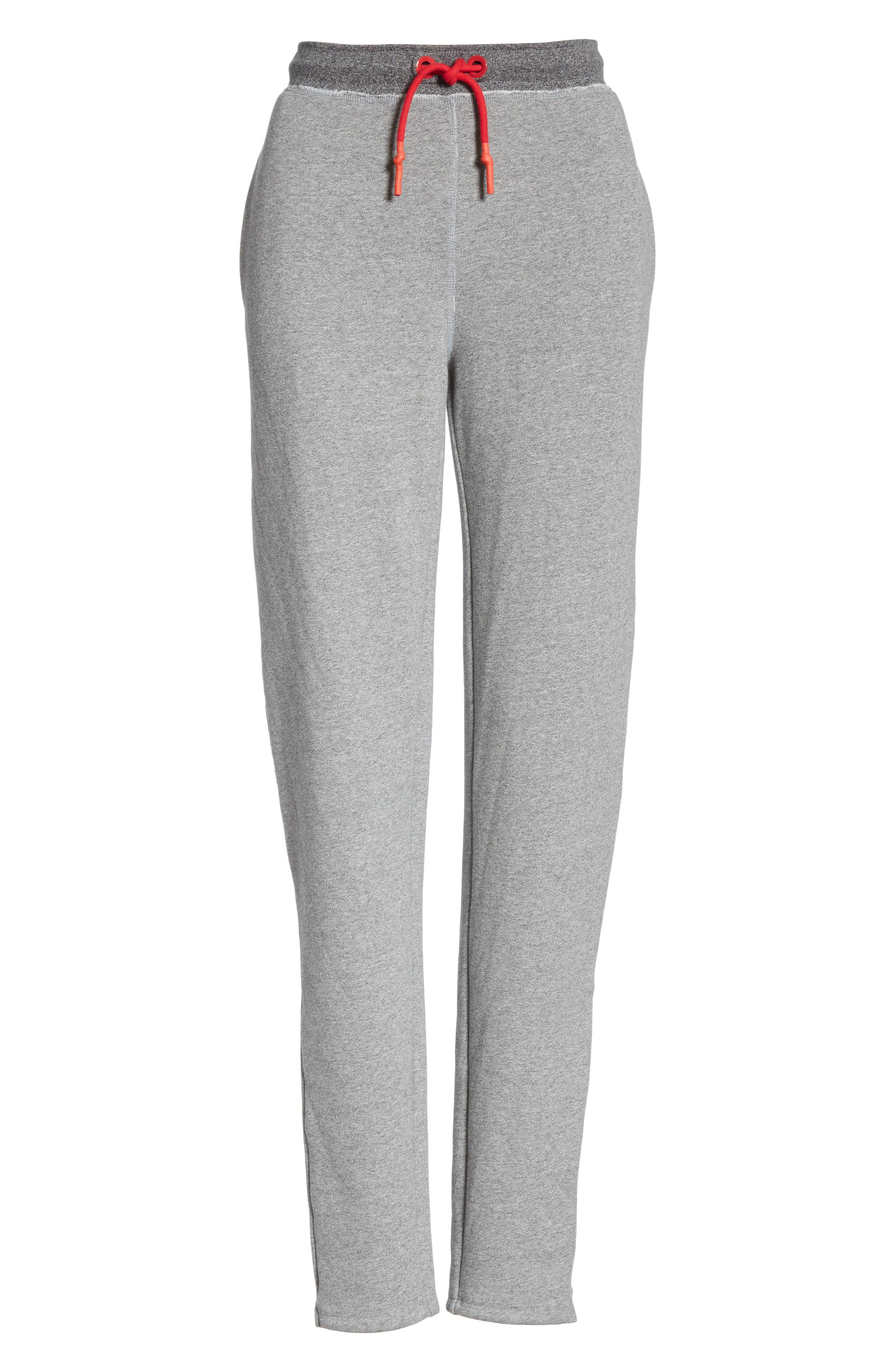Best Sweatpants,                             Alternate thumbnail 6, color,                             HEATHER GREY