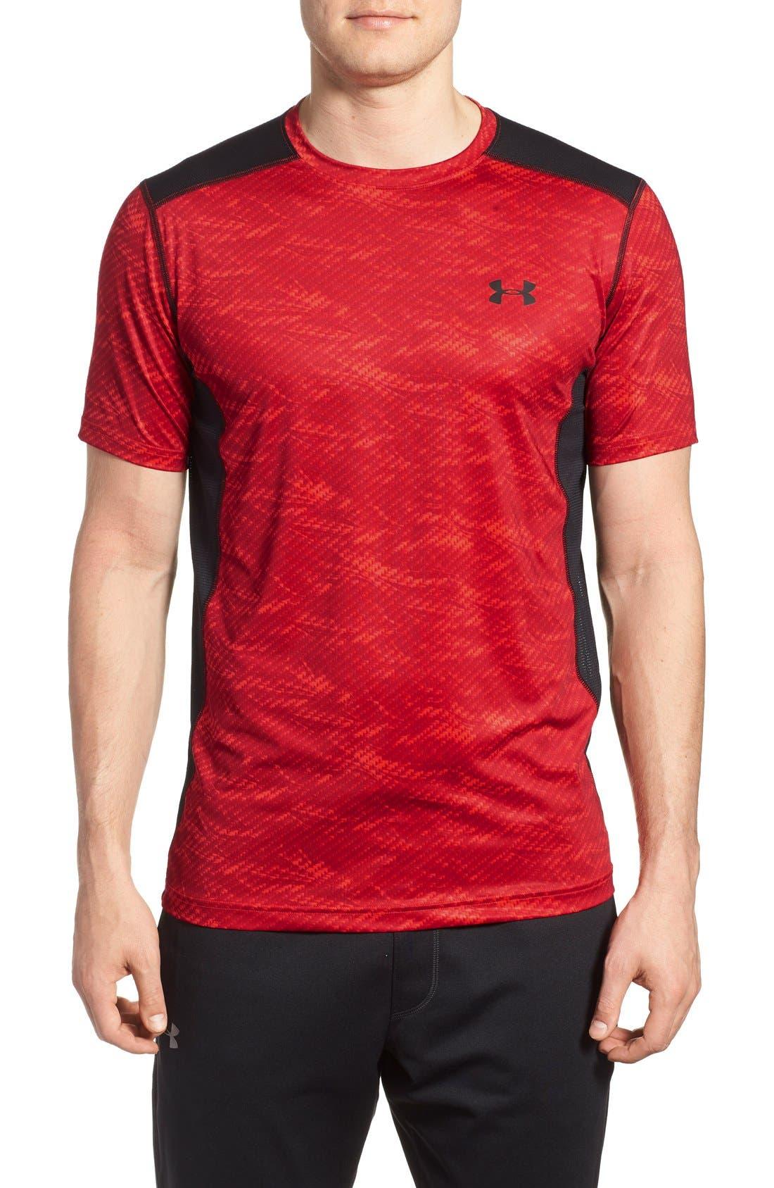 'Raid' HeatGear<sup>®</sup> Training T-Shirt,                             Main thumbnail 25, color,