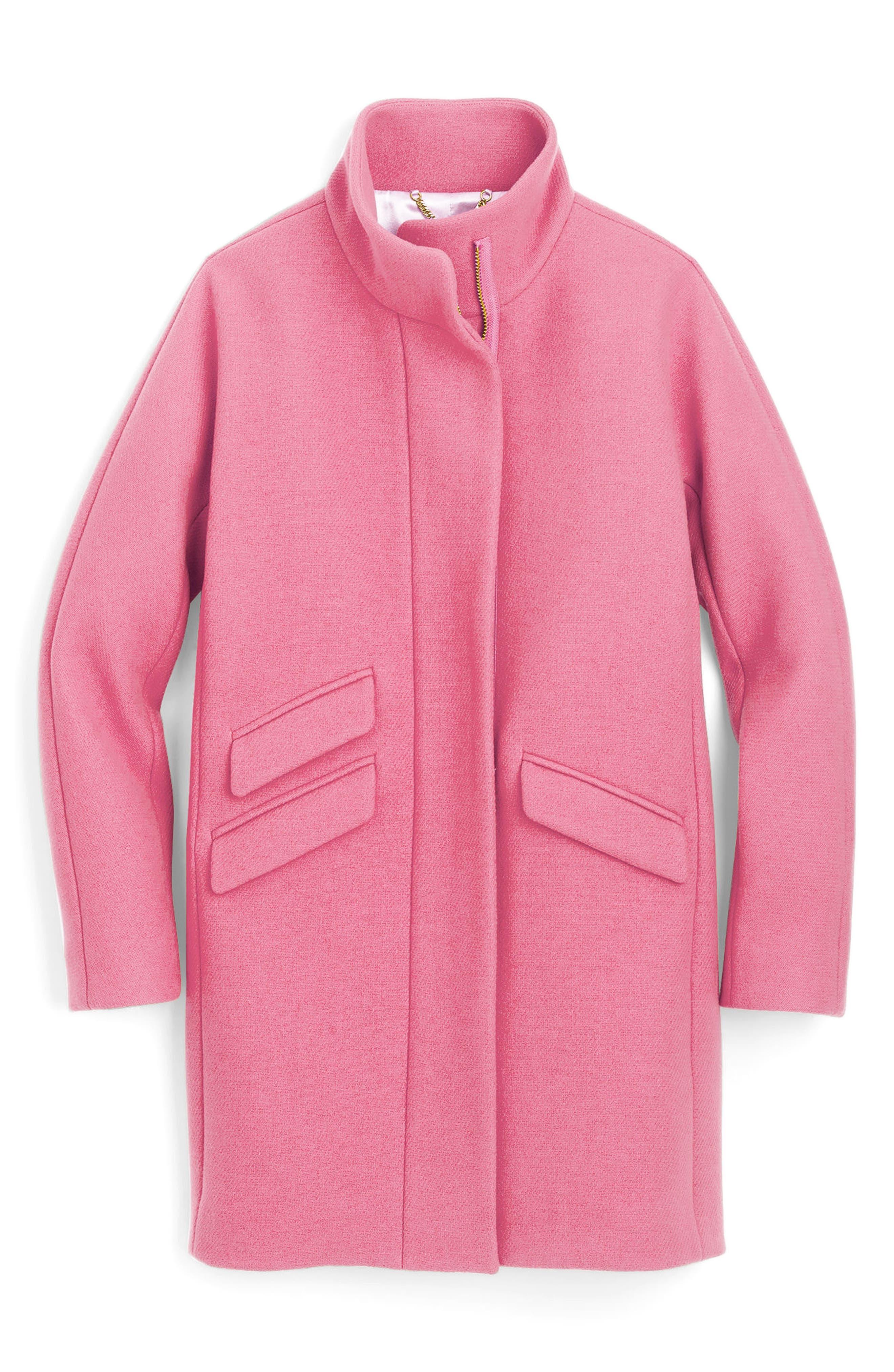 Stadium Cloth Cocoon Coat,                             Main thumbnail 12, color,