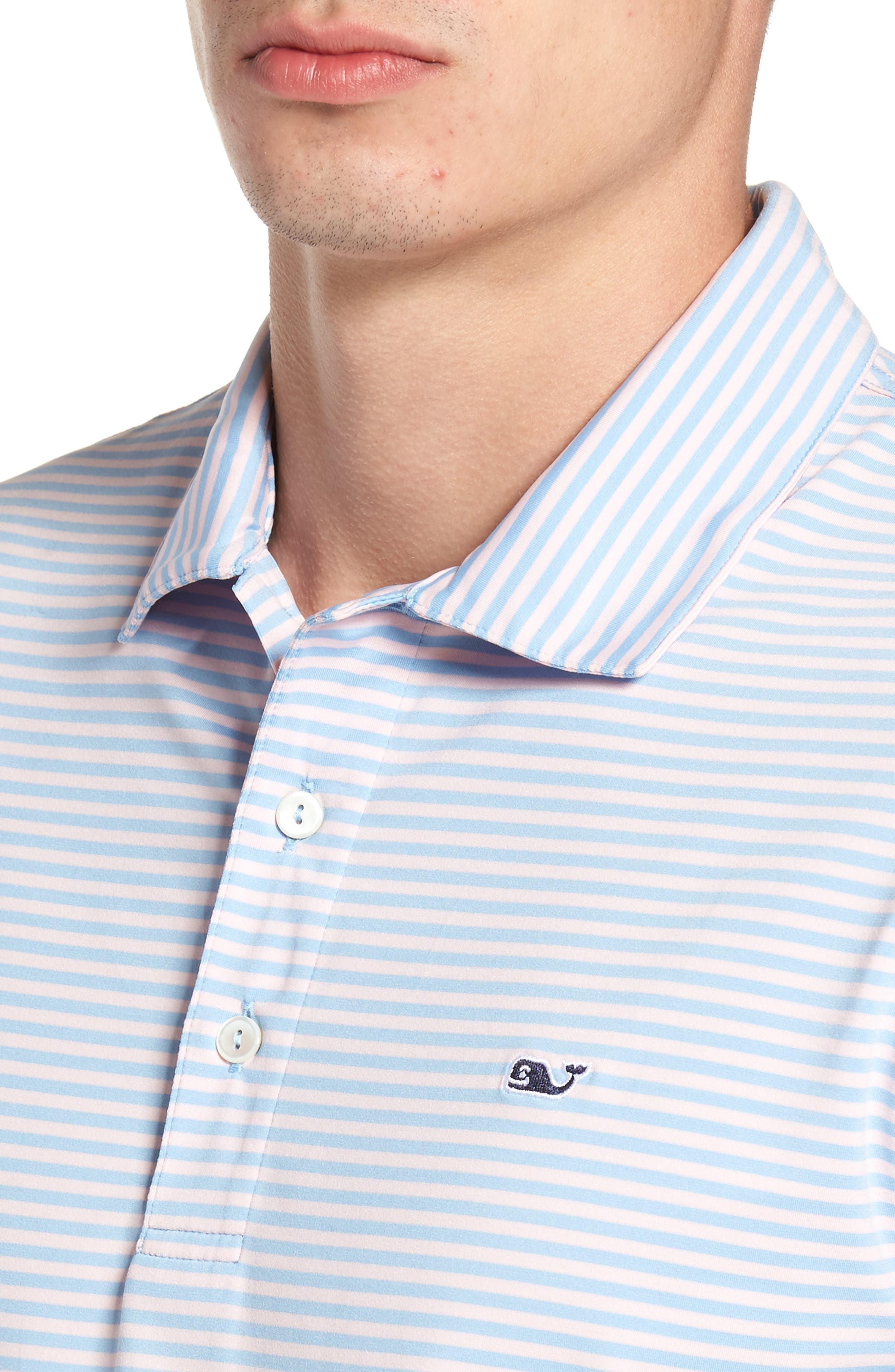 Kennedy Stripe Golf Polo,                             Alternate thumbnail 69, color,