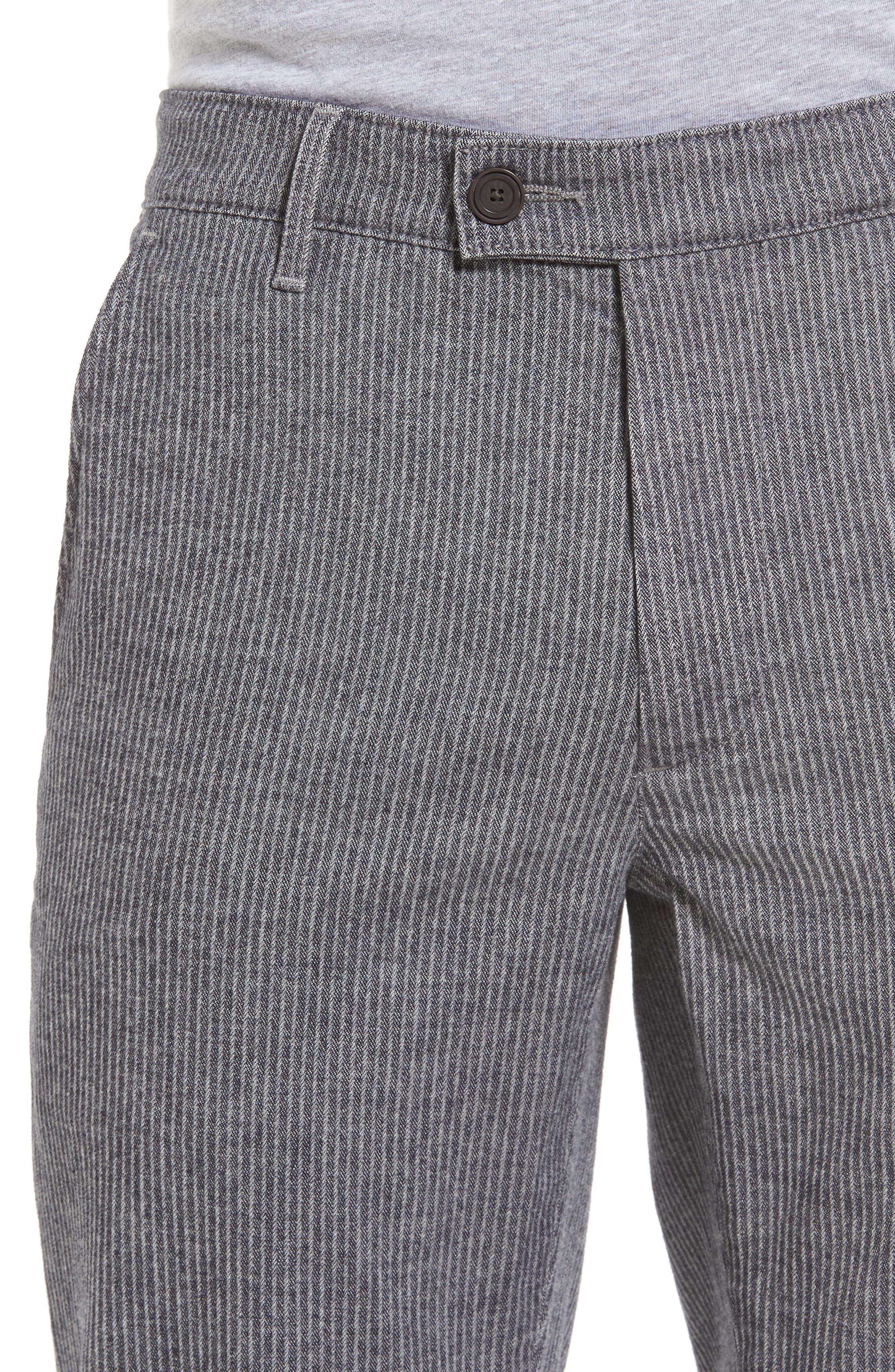 Marshall Slim Fit Pinstripe Pants,                             Alternate thumbnail 4, color,                             028