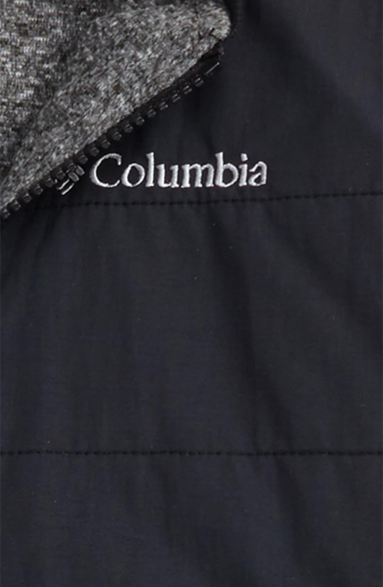 COLUMBIA,                             Evergreen Ridge Reversible Water Resistant Jacket,                             Alternate thumbnail 3, color,                             010