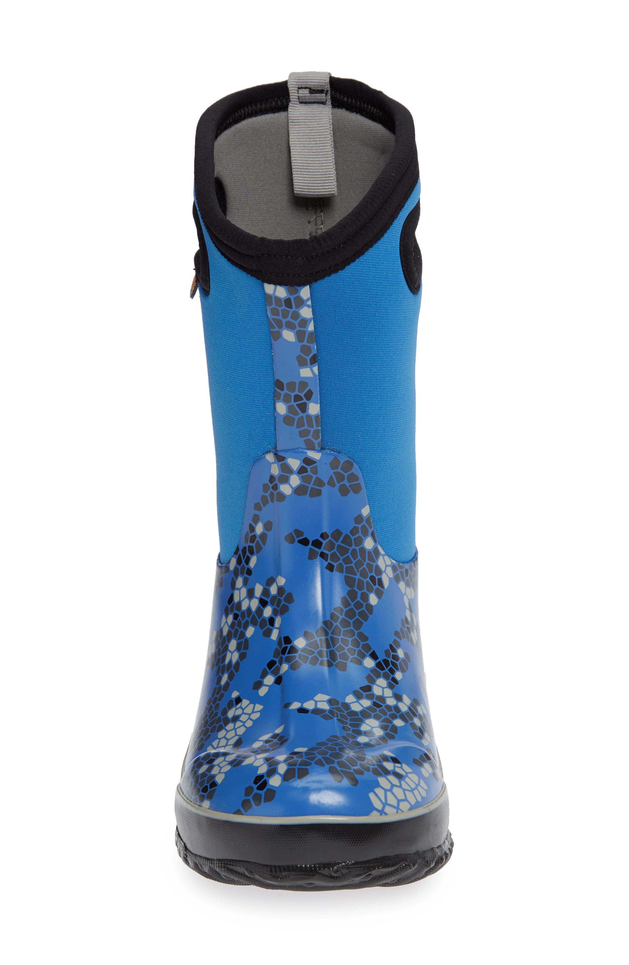 Classic Axel Insulated Waterproof Boot,                             Alternate thumbnail 4, color,                             BLUE MULTI