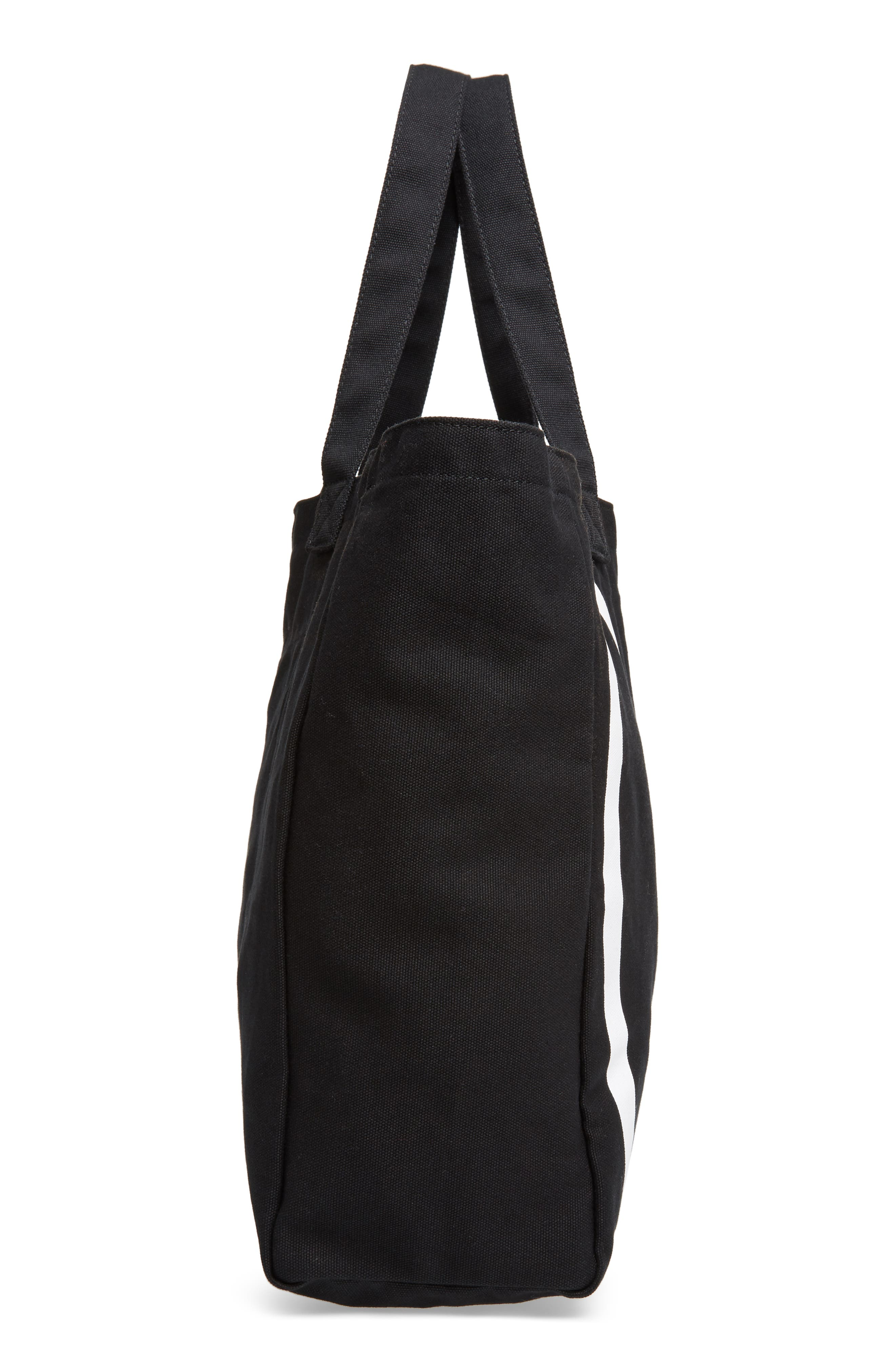 Oversized Canvas Tote,                             Alternate thumbnail 14, color,