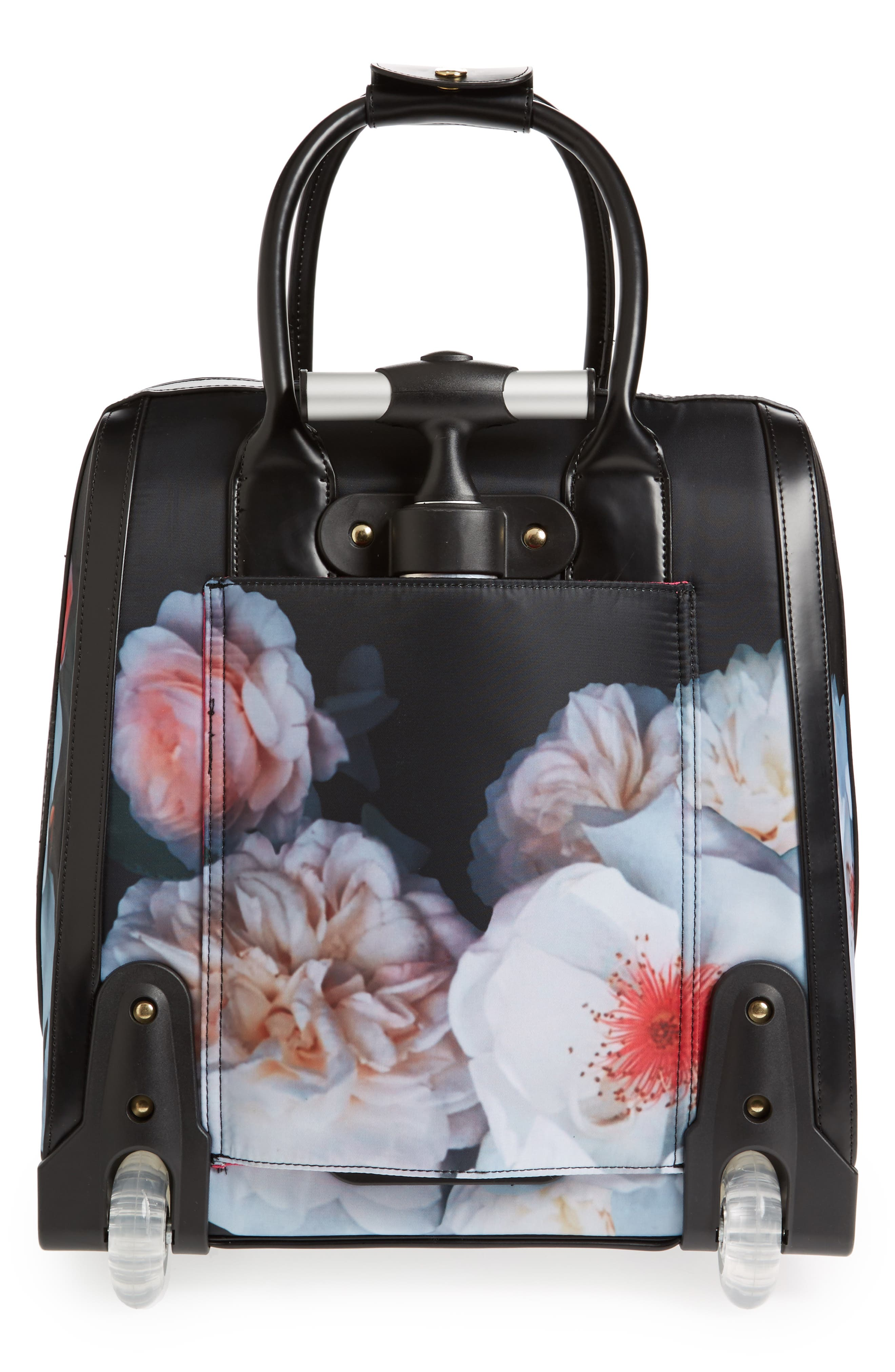 Evi Chelsea Wheeled Travel Bag,                             Alternate thumbnail 4, color,                             001
