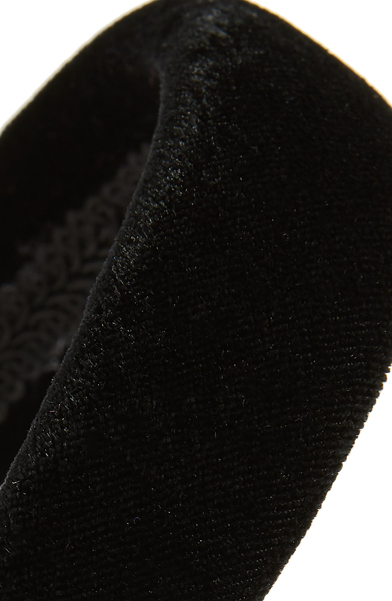 Velvet Headband,                             Alternate thumbnail 2, color,                             001
