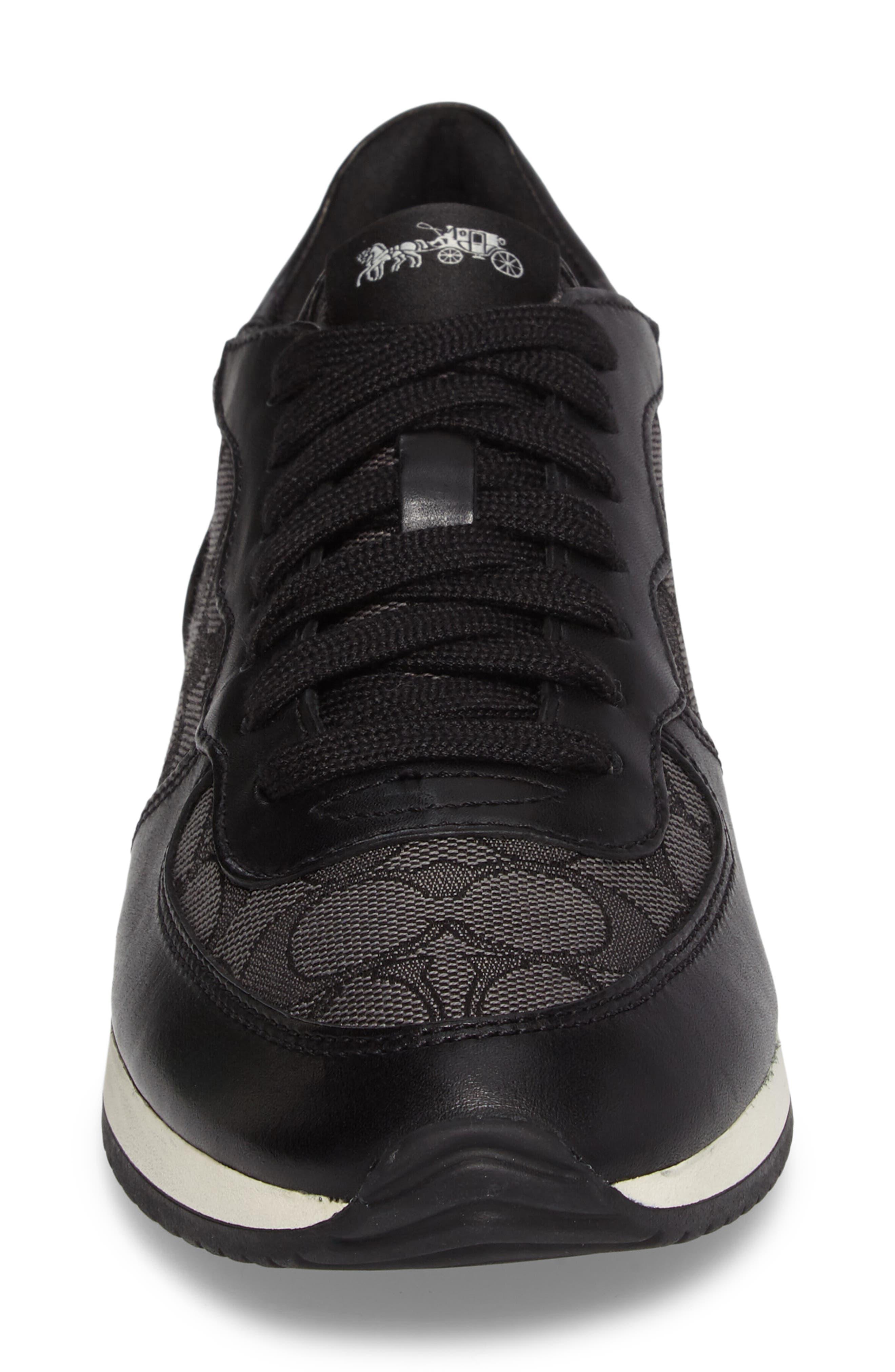 COACH,                             Farah Sneaker,                             Alternate thumbnail 4, color,                             011