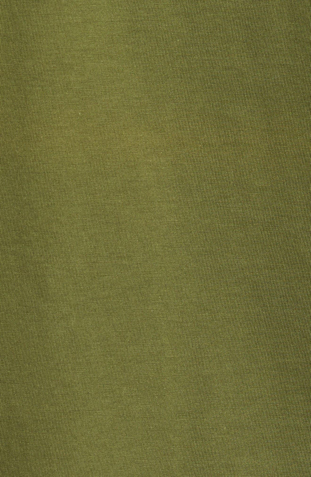 V-Neck Cotton T-Shirt,                             Alternate thumbnail 5, color,                             305