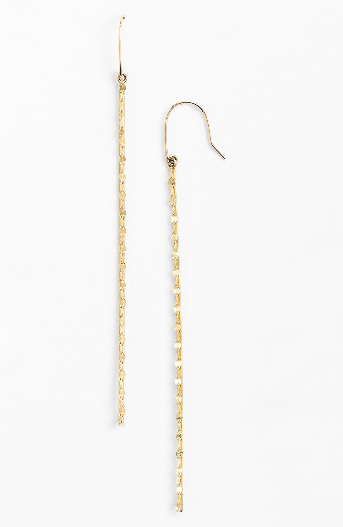 'Glam' Long Linear Earrings, Main, color, 710