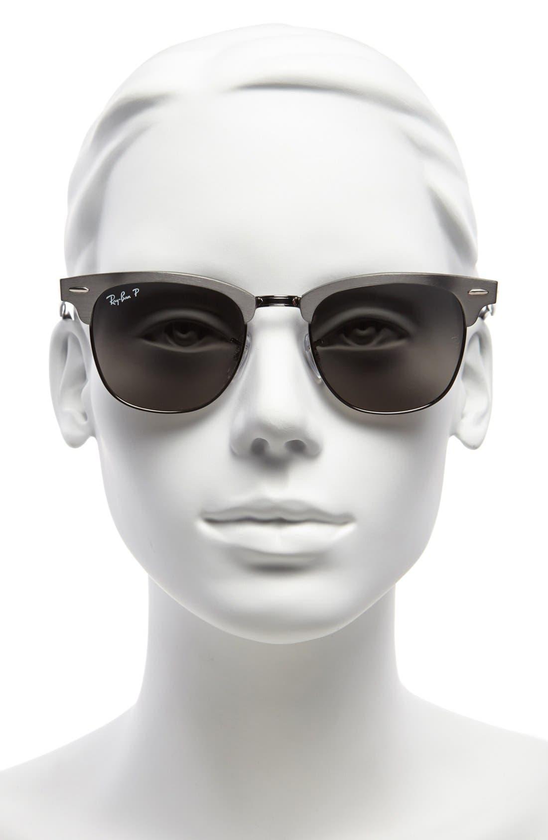 'Clubmaster' 51mm Polarized Sunglasses,                             Alternate thumbnail 2, color,                             020