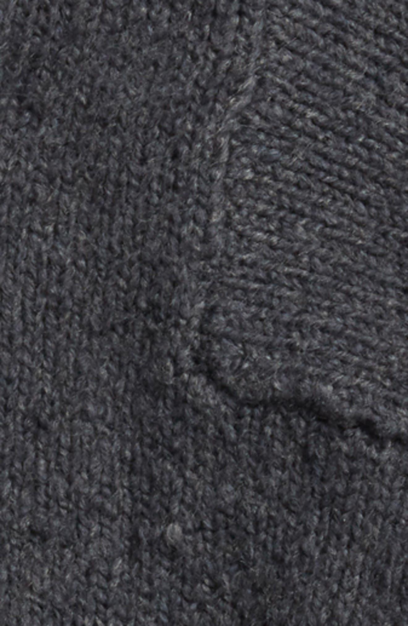 Funnel Neck Sweater,                             Alternate thumbnail 2, color,                             GREY COBBLE
