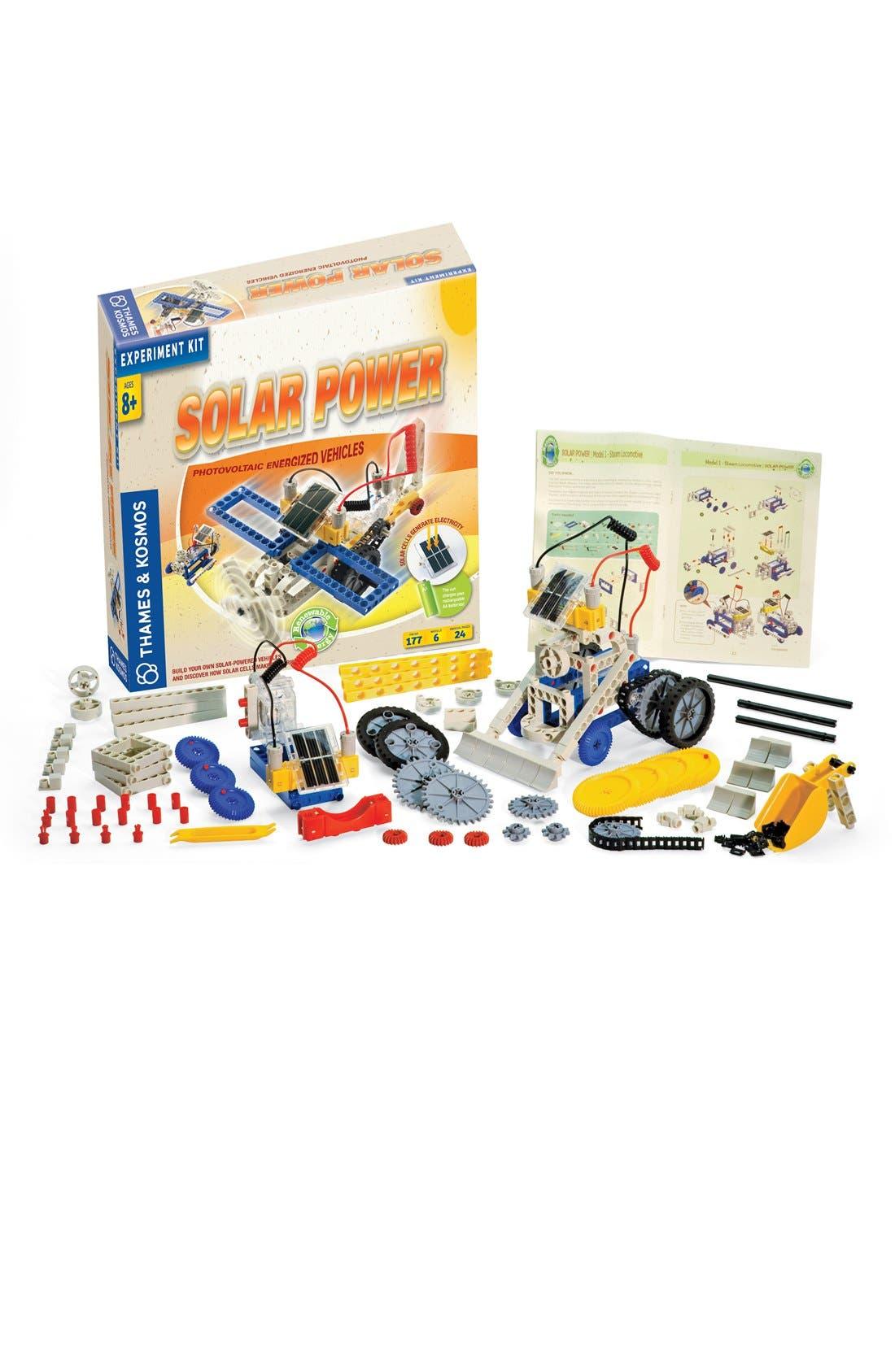 'Solar Power' Experiment Kit,                             Main thumbnail 1, color,                             NO COLOR