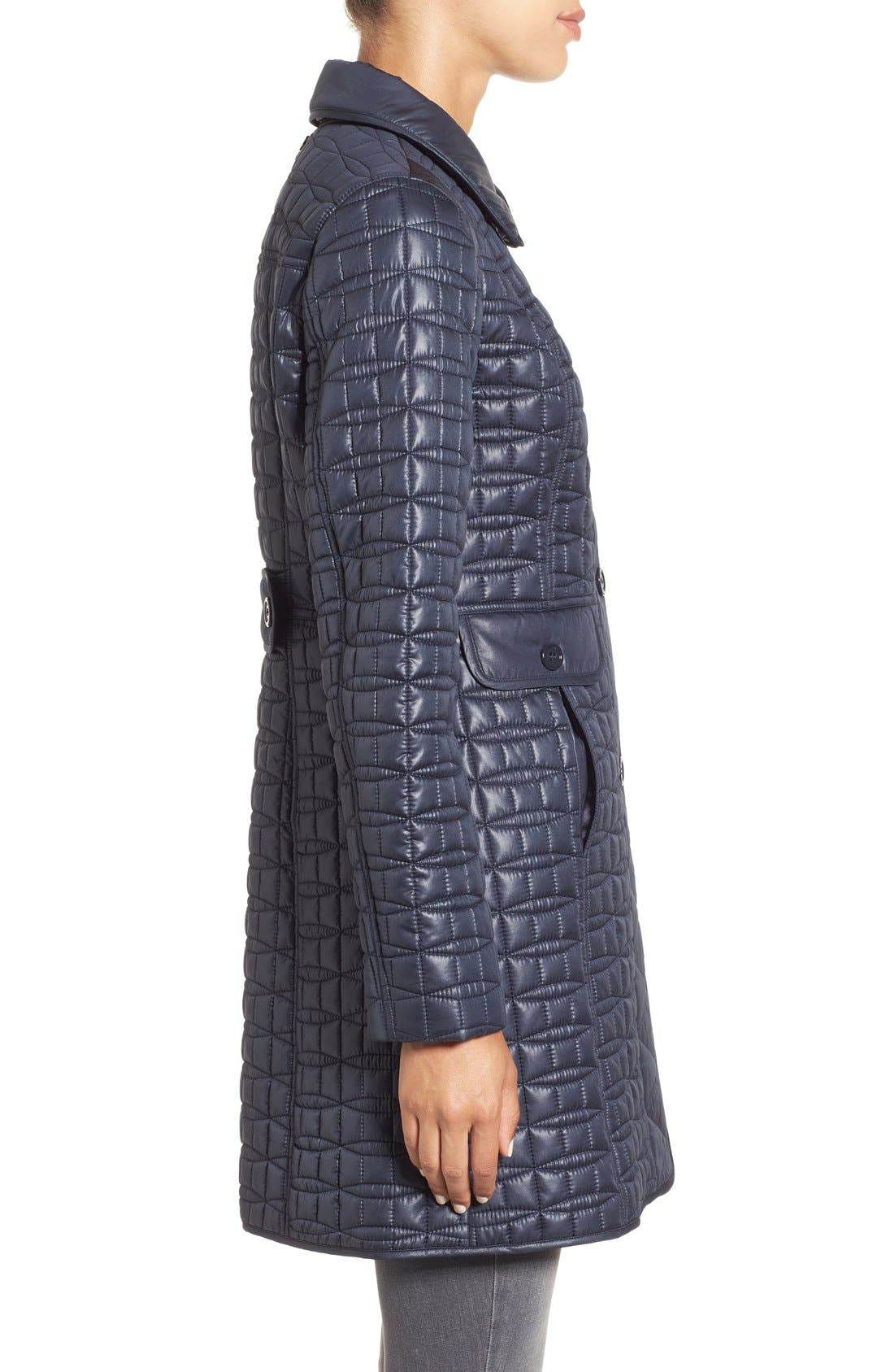 water resistant quilted coat,                             Alternate thumbnail 12, color,