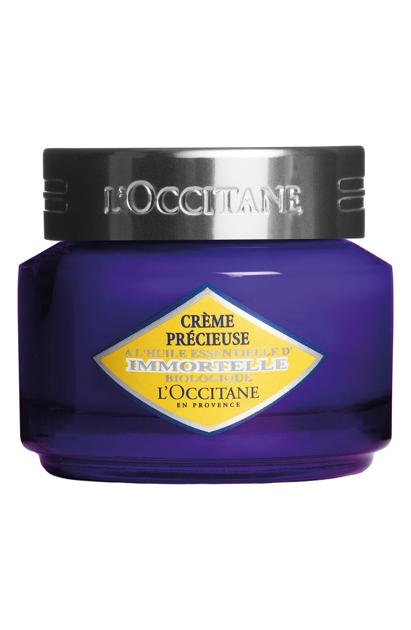 L'OCCITANE,                             Immortelle Precious Cream,                             Main thumbnail 1, color,                             NO COLOR