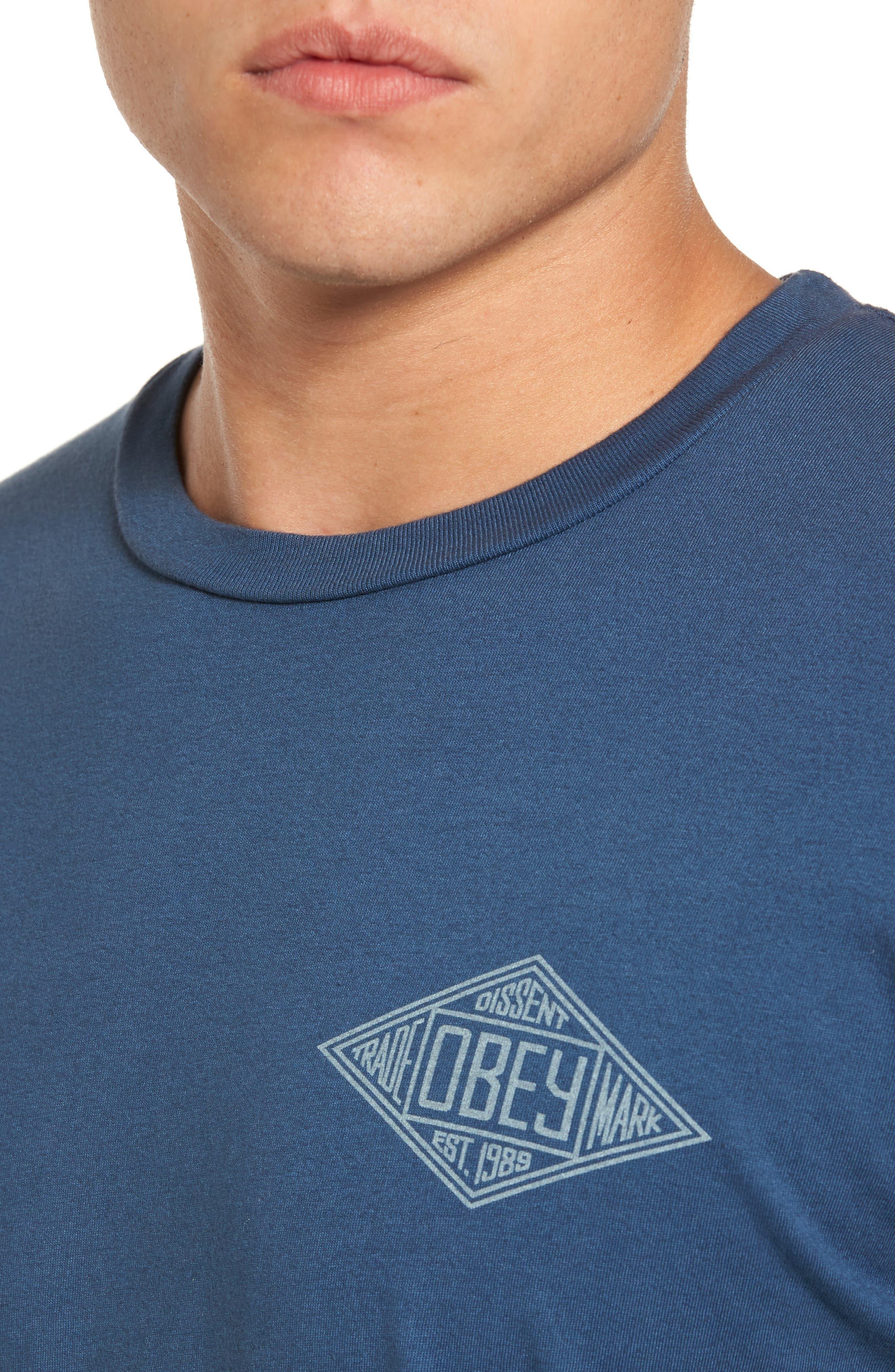 Trademark Diamond T-Shirt,                             Alternate thumbnail 4, color,                             424