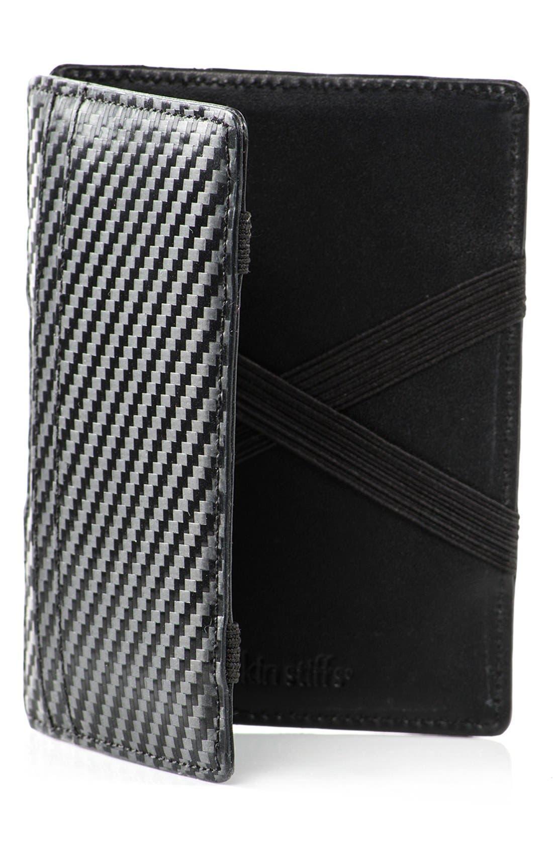 WürkinStiffs Leather RFIDWallet,                             Main thumbnail 1, color,                             001