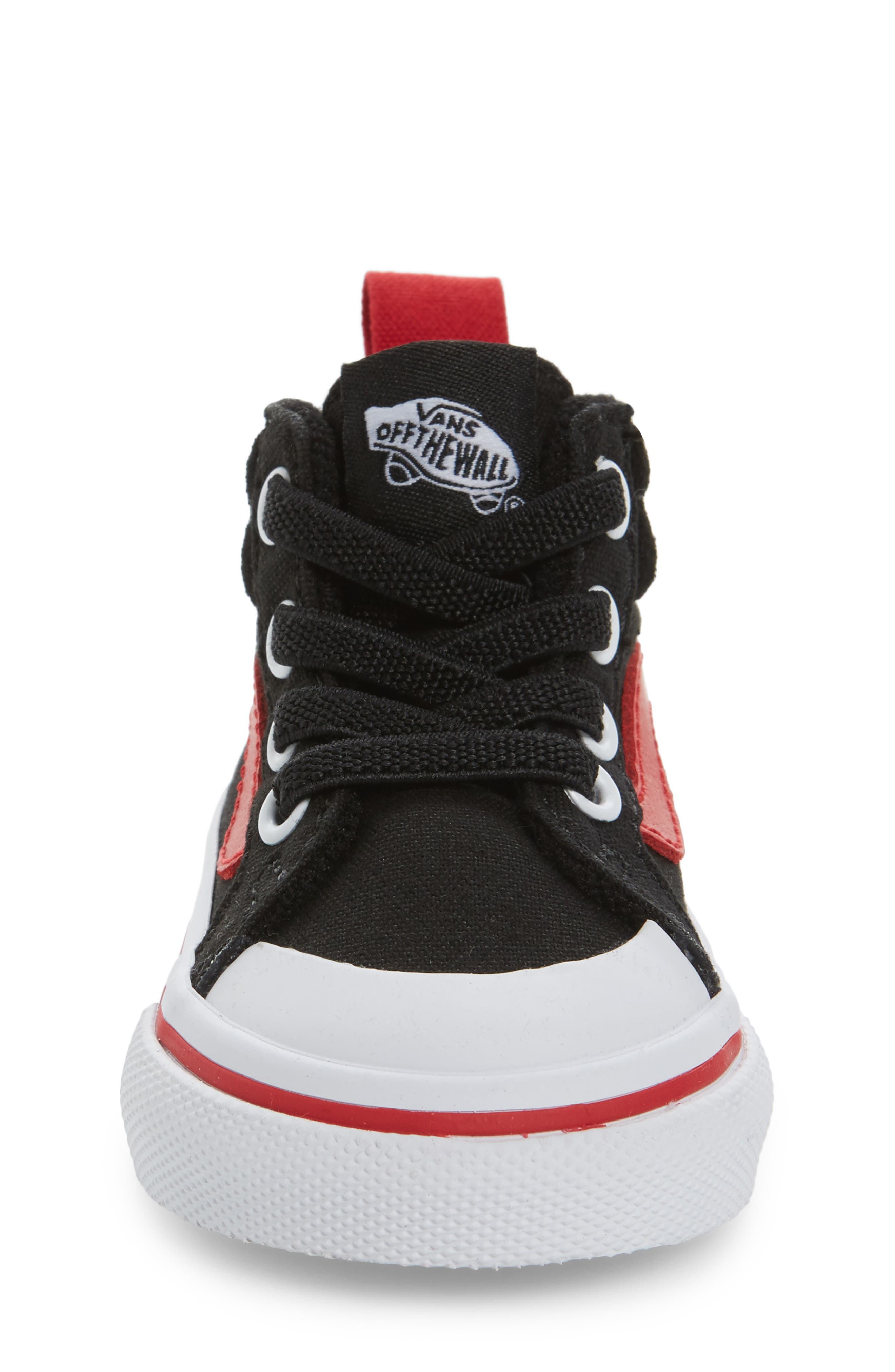 Racer Mid Elastic Lace Sneaker,                             Alternate thumbnail 27, color,
