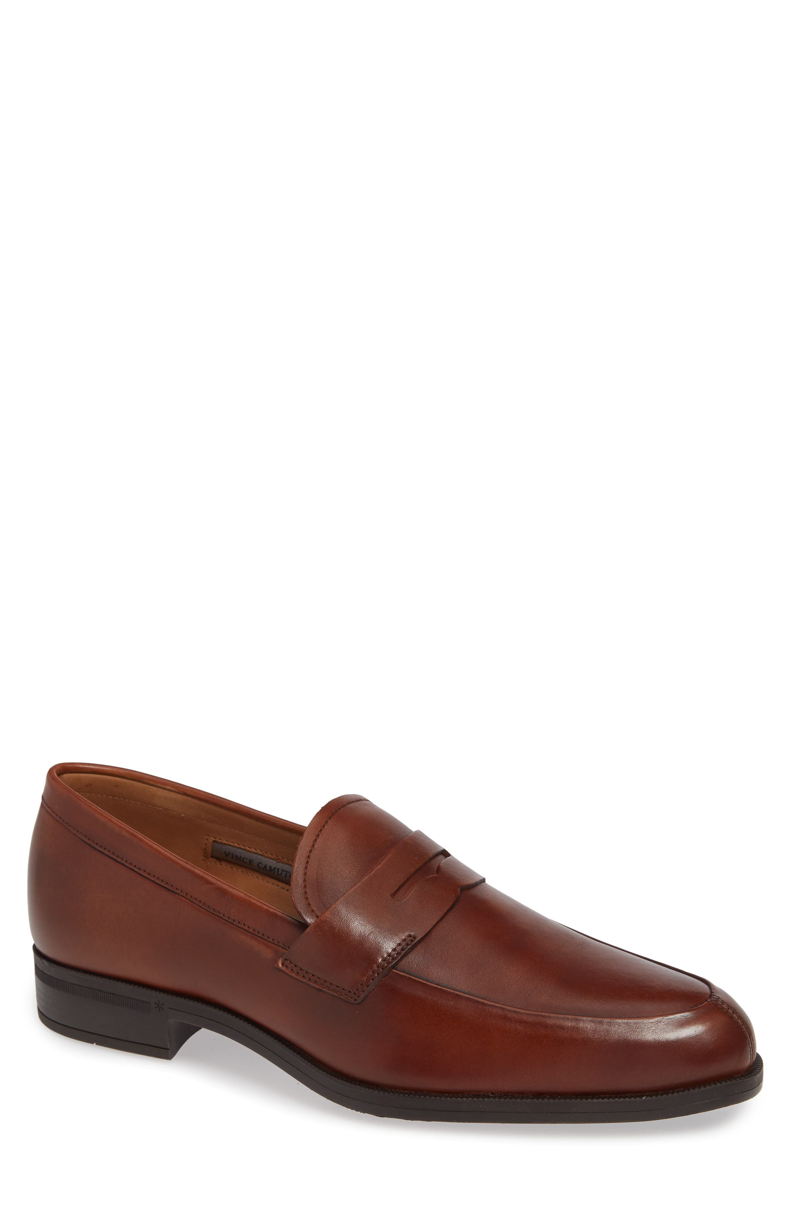 Iggi Penny Loafer,                             Main thumbnail 1, color,                             COGNAC LEATHER
