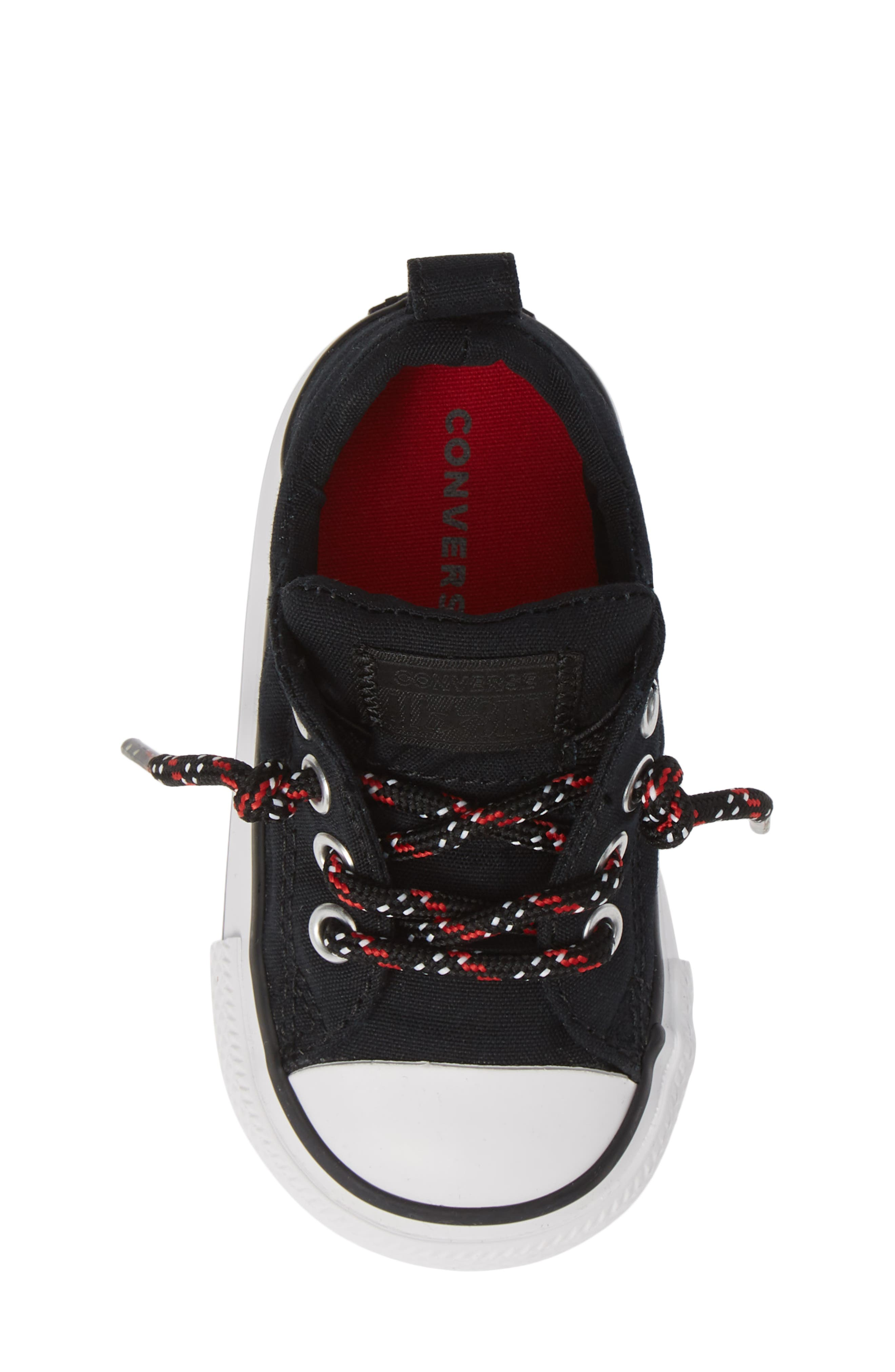 All Star<sup>®</sup> Graphite & Glitter Low Top Sneaker,                             Alternate thumbnail 5, color,                             002