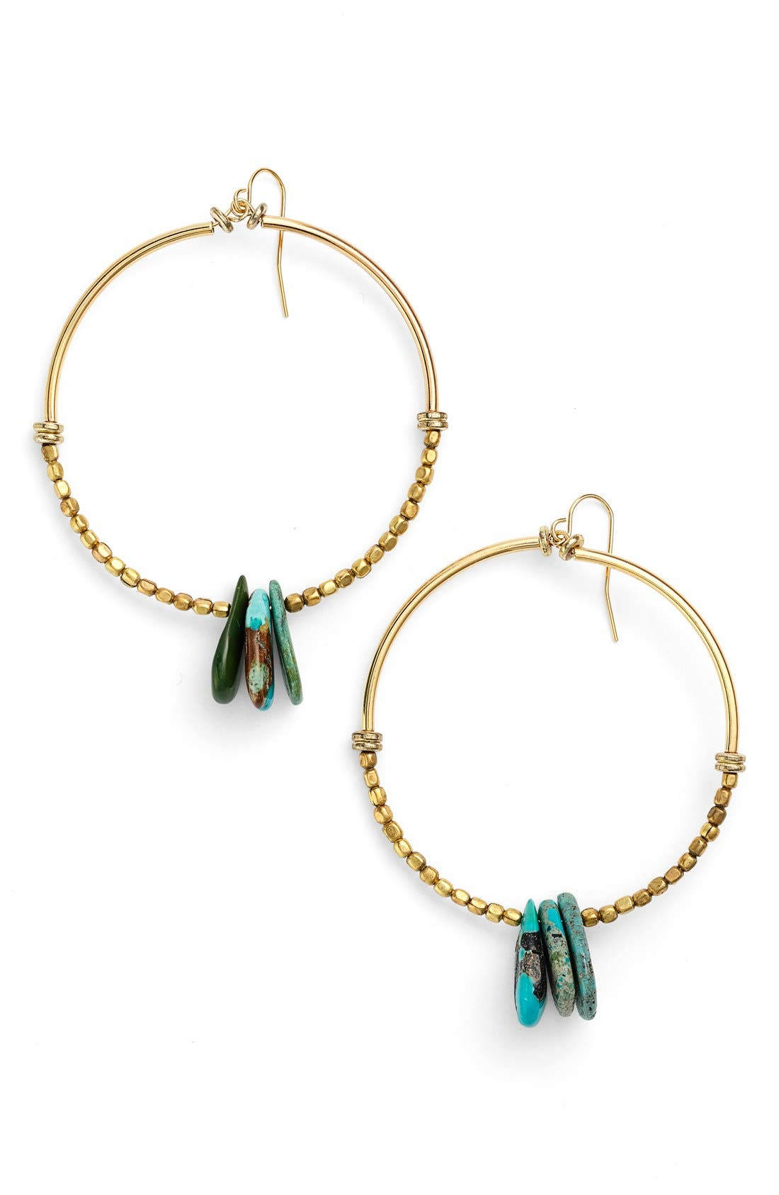 'Bonita' Hoop Earrings, Main, color, 710