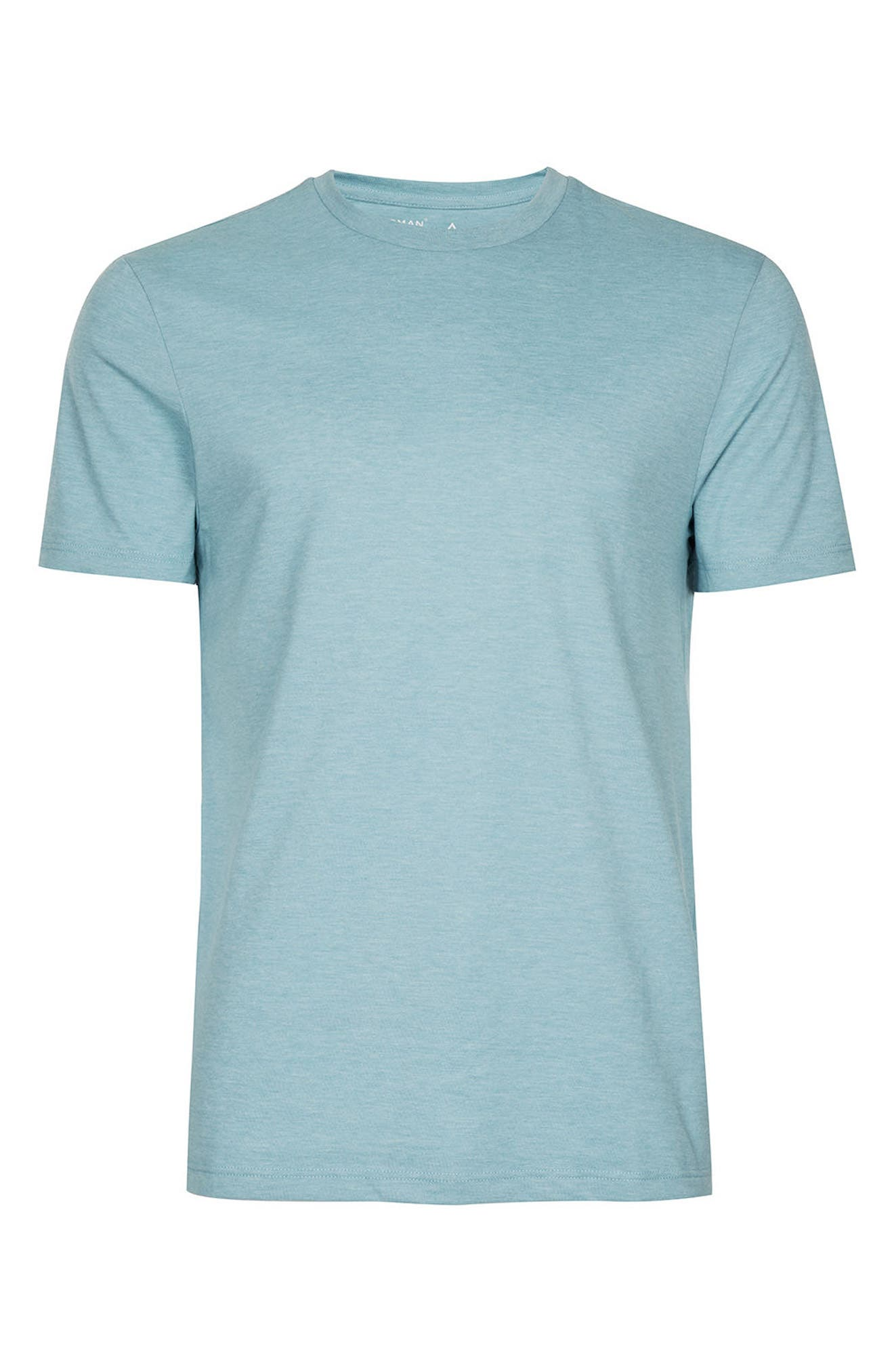 Slim Fit Crewneck T-Shirt,                             Alternate thumbnail 299, color,
