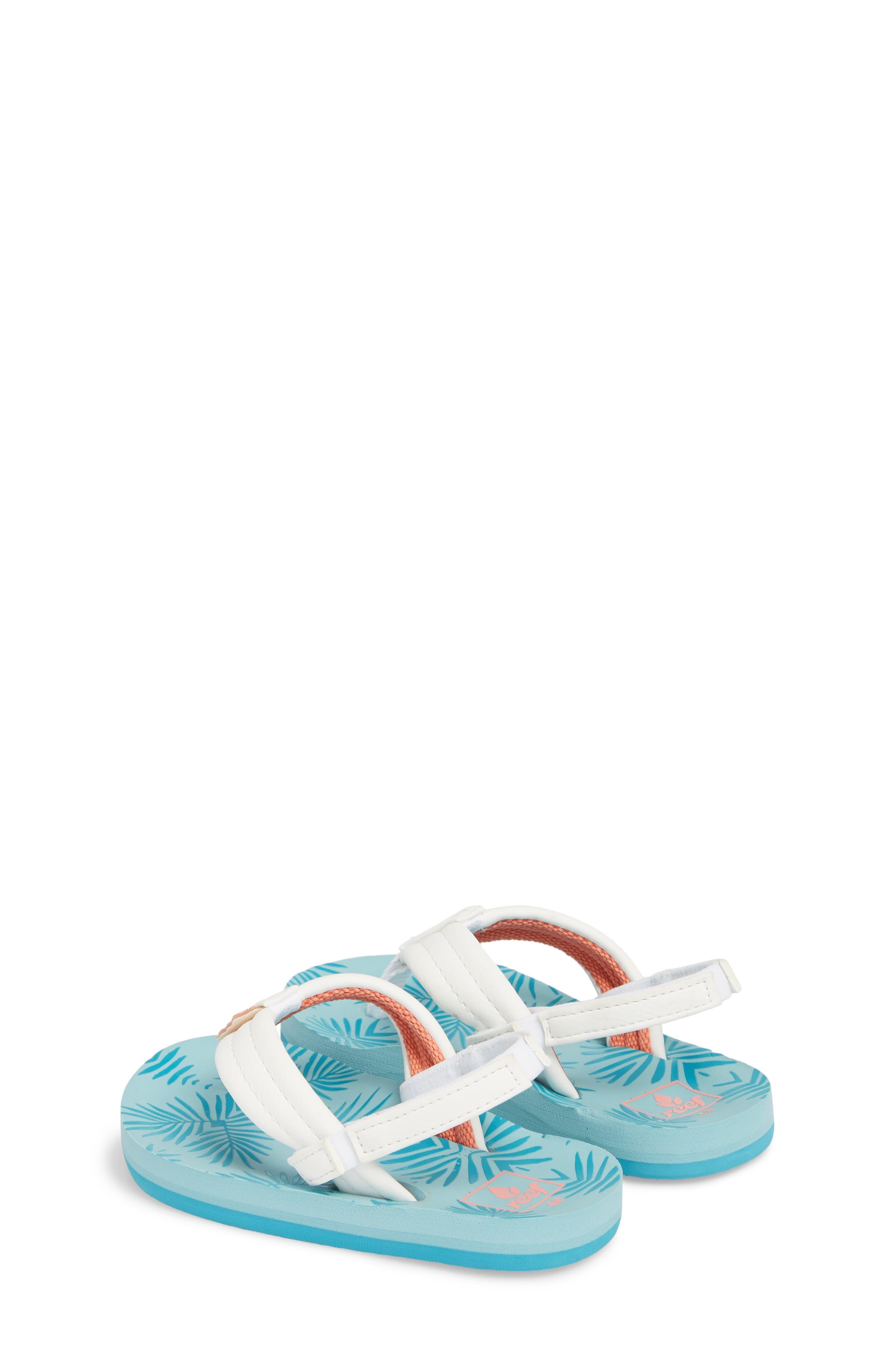 Little Reef Footprints Sandal,                             Alternate thumbnail 3, color,                             403