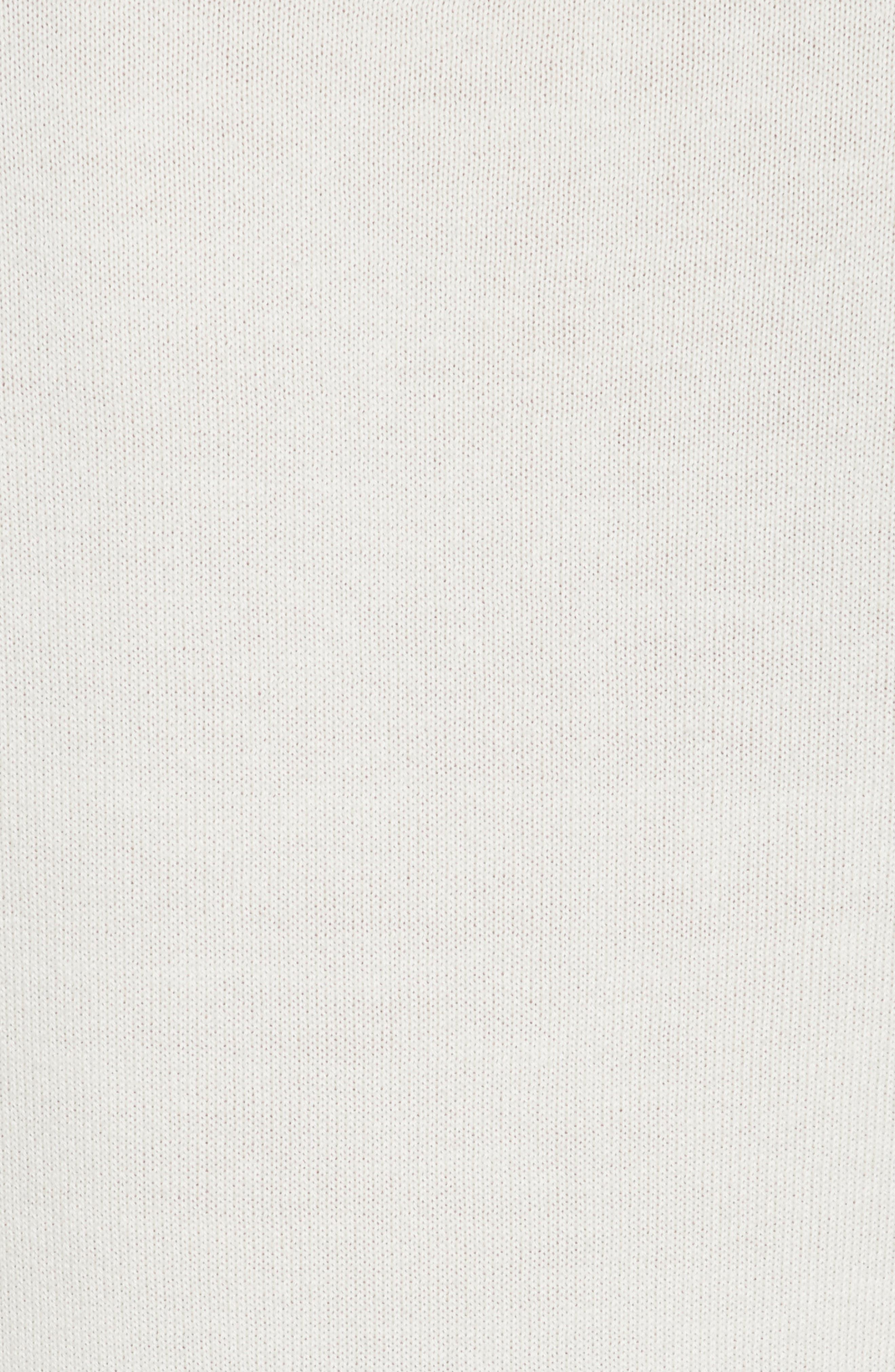 Nell Stripe Cotton Blend Sweater,                             Alternate thumbnail 5, color,