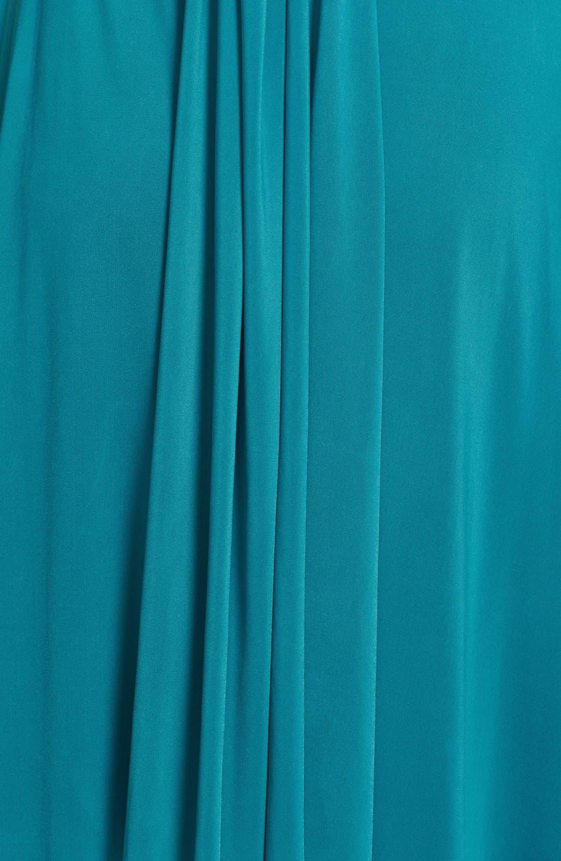 Convertible Wrap Tie Surplice Jersey Gown,                             Alternate thumbnail 26, color,
