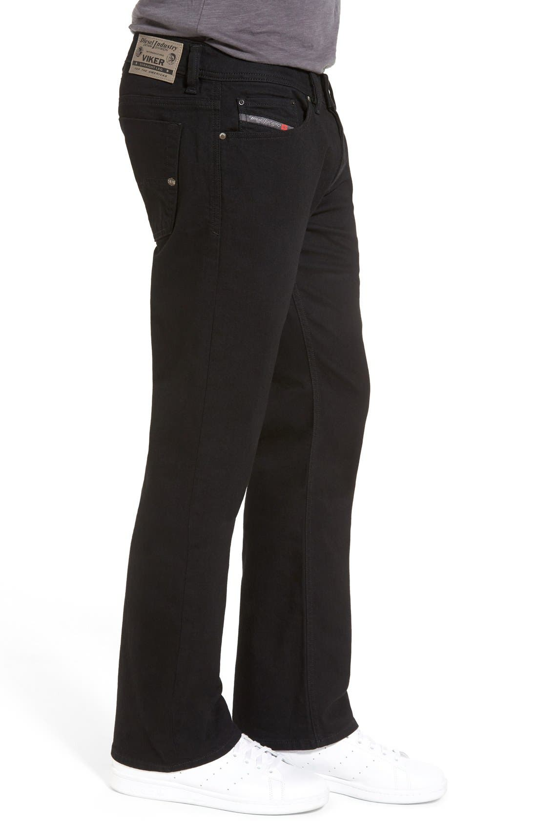 'Viker' Straight Fit Jeans,                             Alternate thumbnail 4, color,                             008